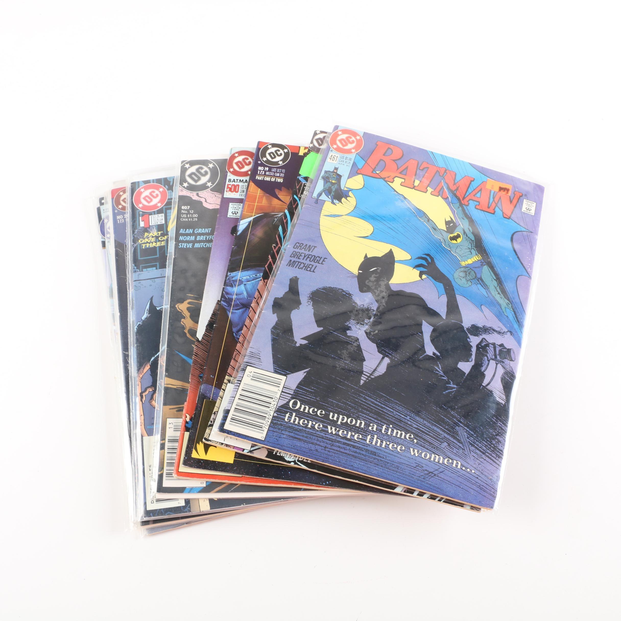 "Modern Age DC Comic Books Including ""Batman"" and ""Detective Comics"""