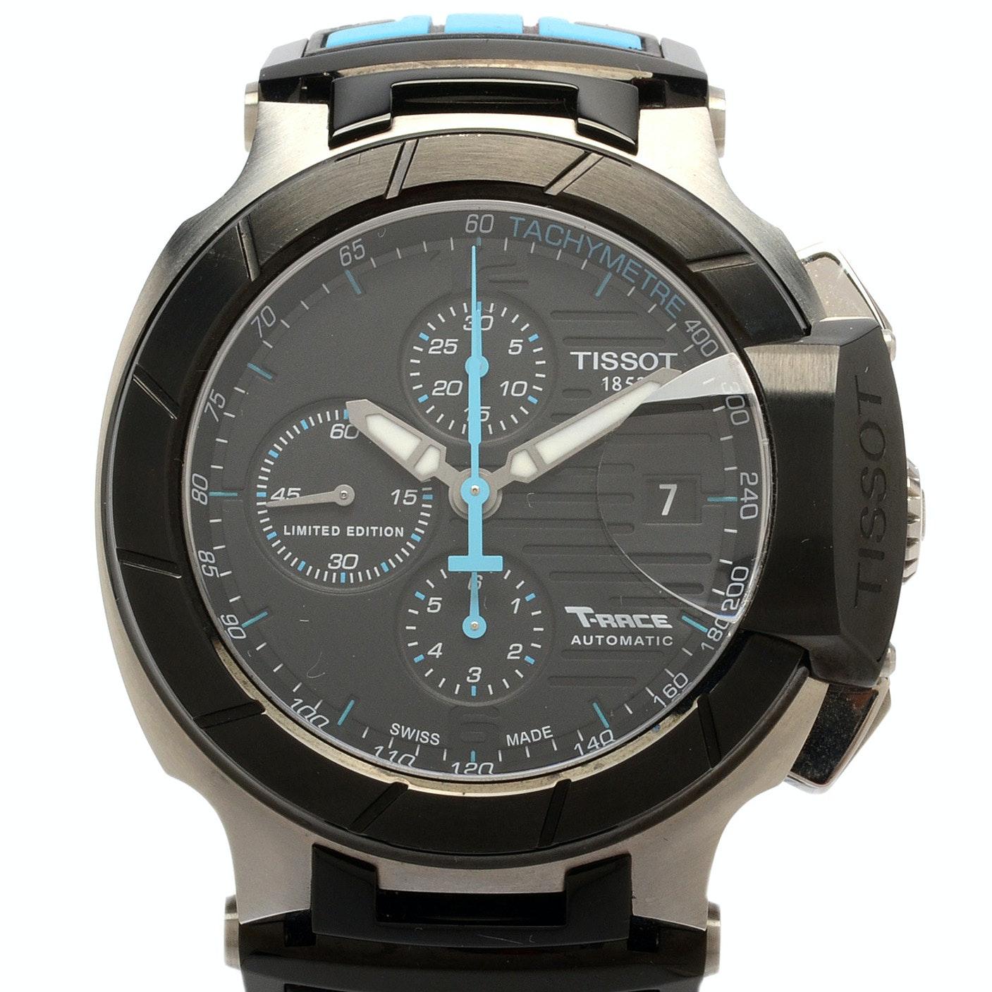 "Tissot ""T-Race"" Limited Edition MotoGP Steel Automatic Wristwatch"