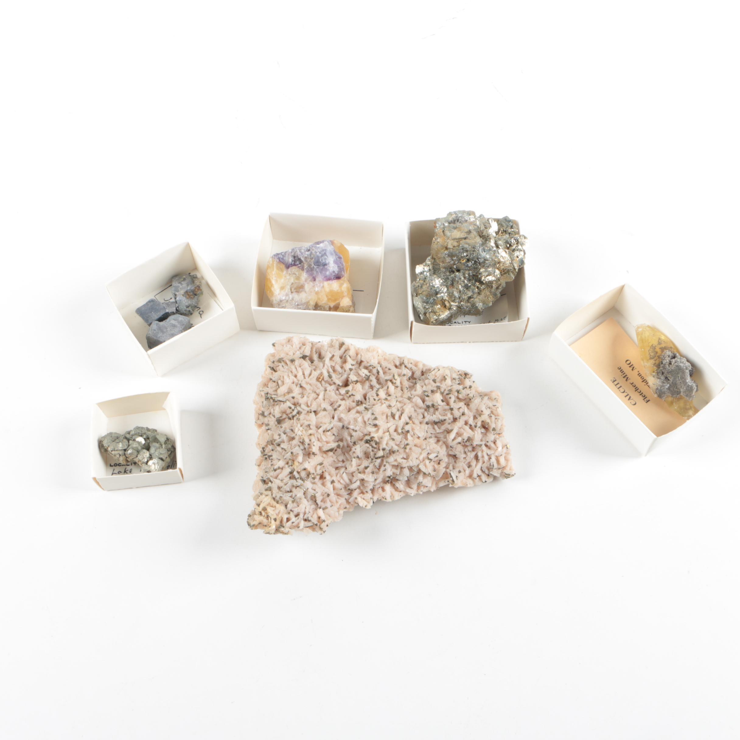 MVT Mineral Specimens