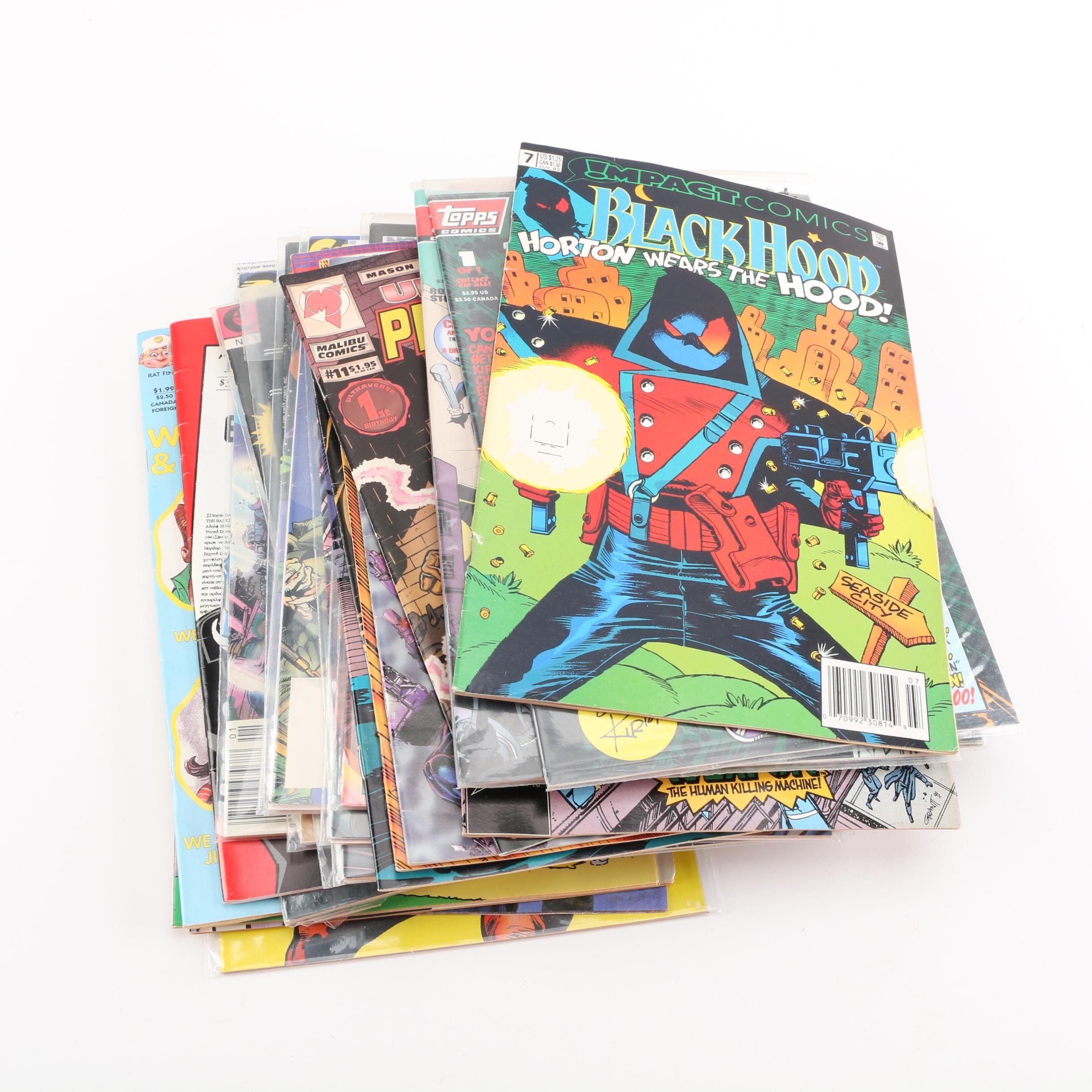 "Assorted Comic Books Including ""Teenage Mutant Ninja Turtles"" and ""The Tick"""