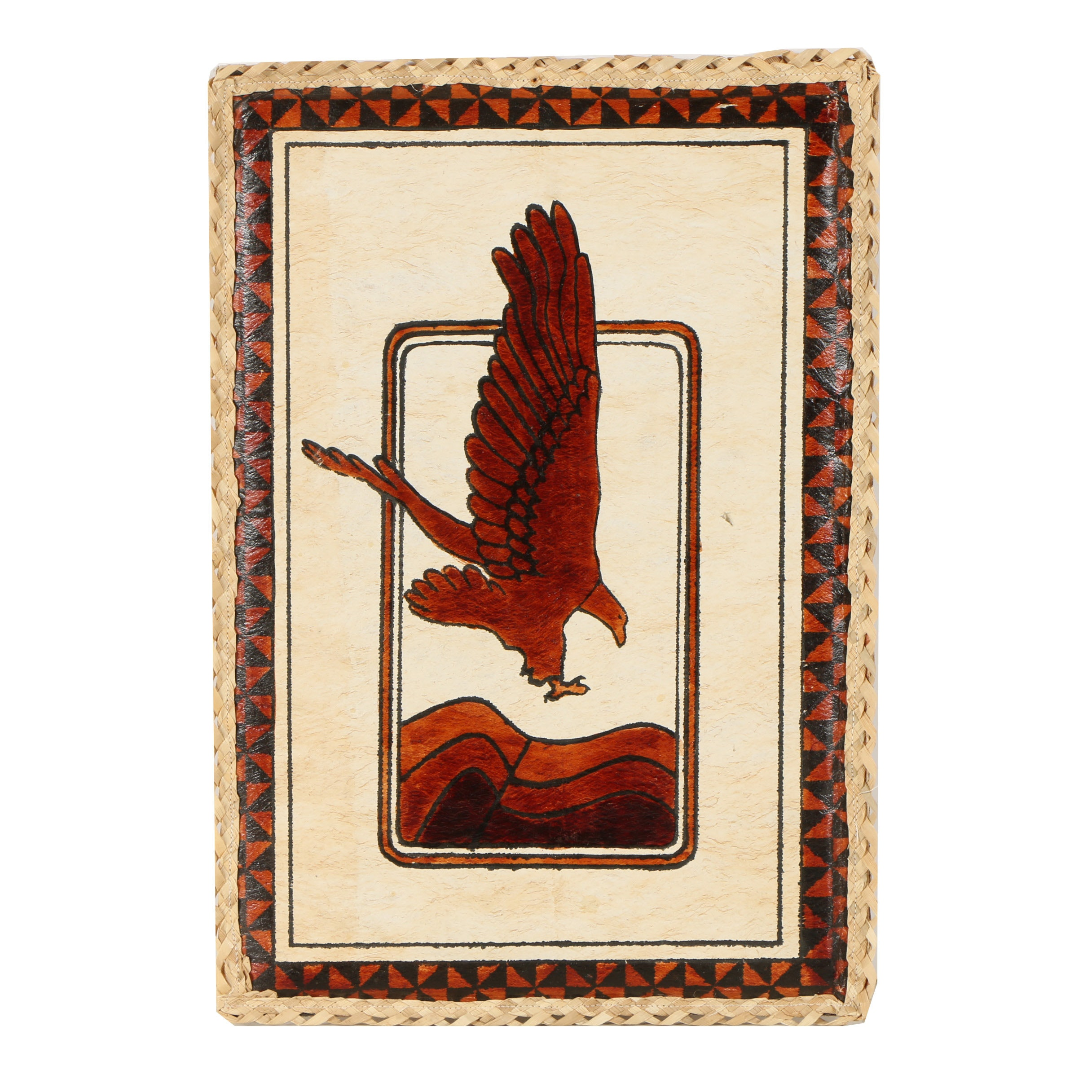 Hand-Colored Serigraph of an Eagle