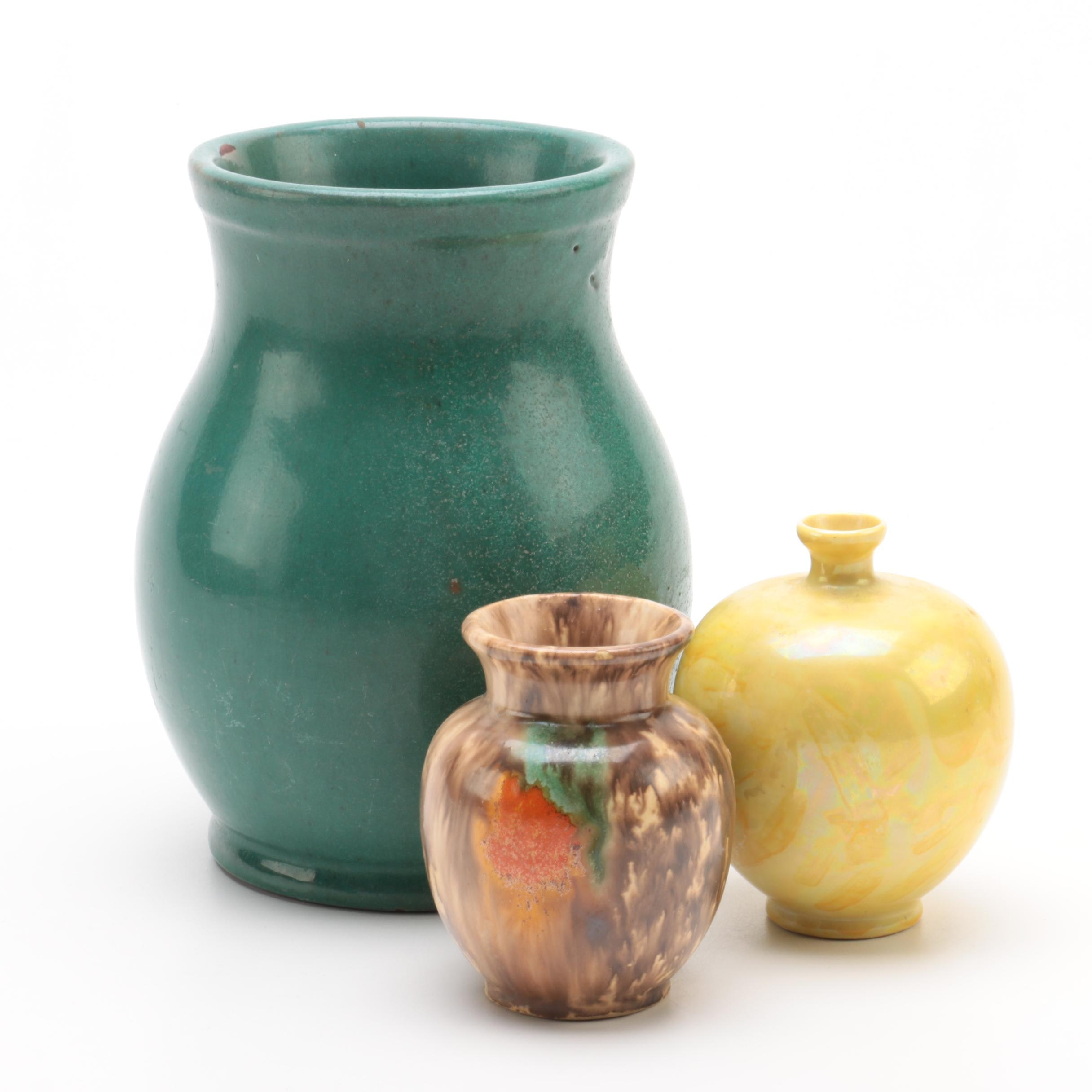 Vintage Ceramic and Art Pottery Vases