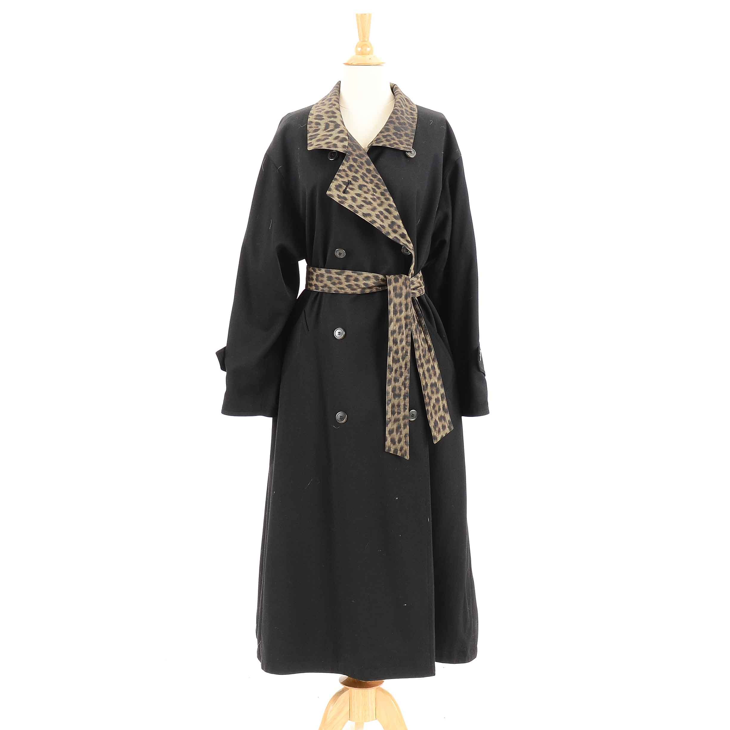Women's Vintage Double-Breasted Trench Coat