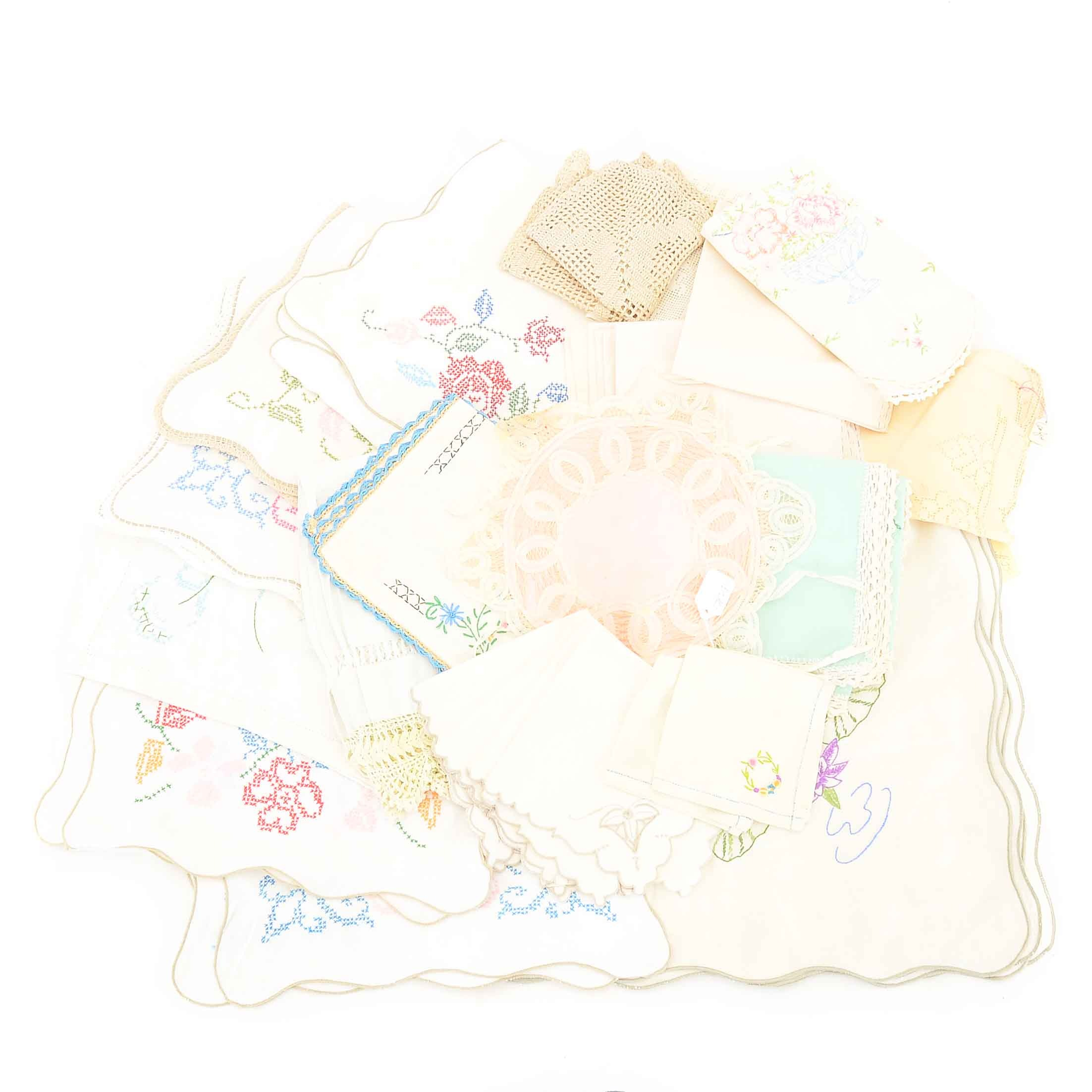Collection of Vintage Linens