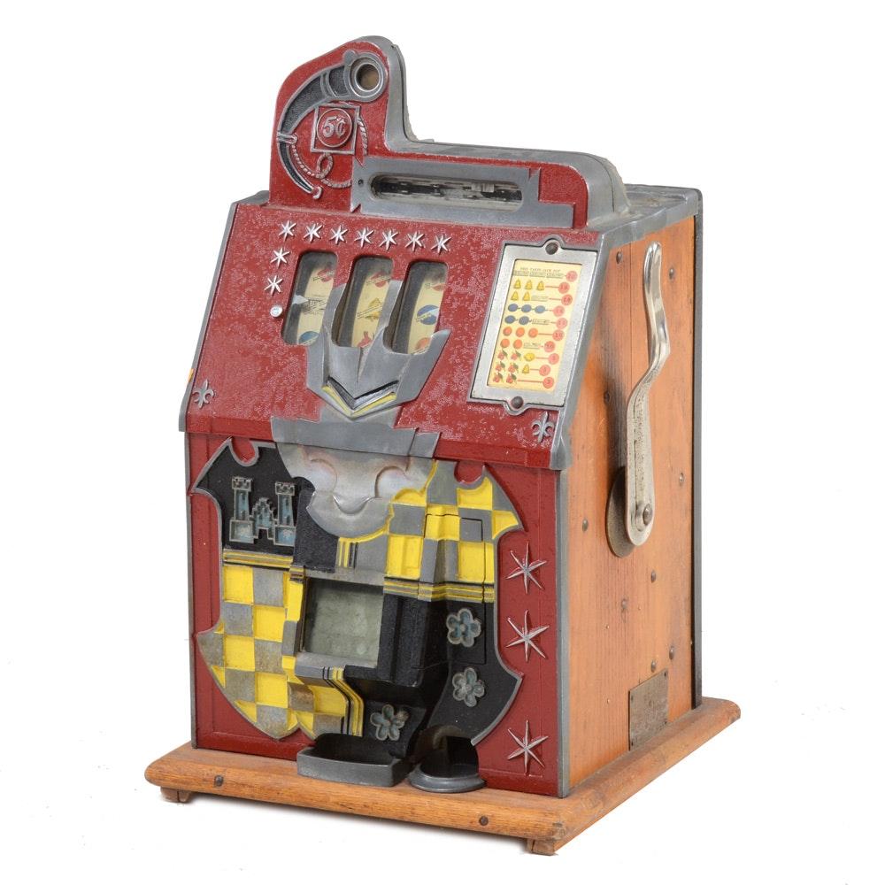 1910 Mills Novelty Five Cent Slot Machine