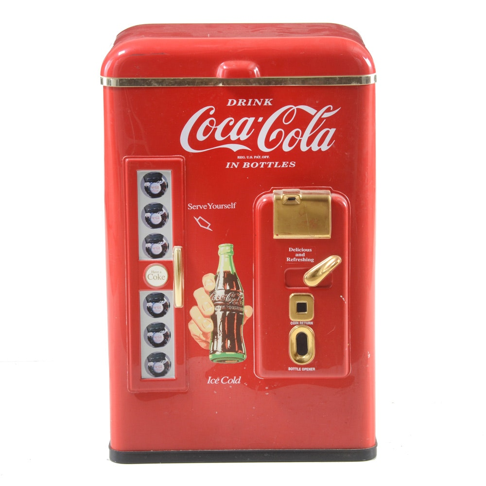 Contemporary Coca-Cola Cooler