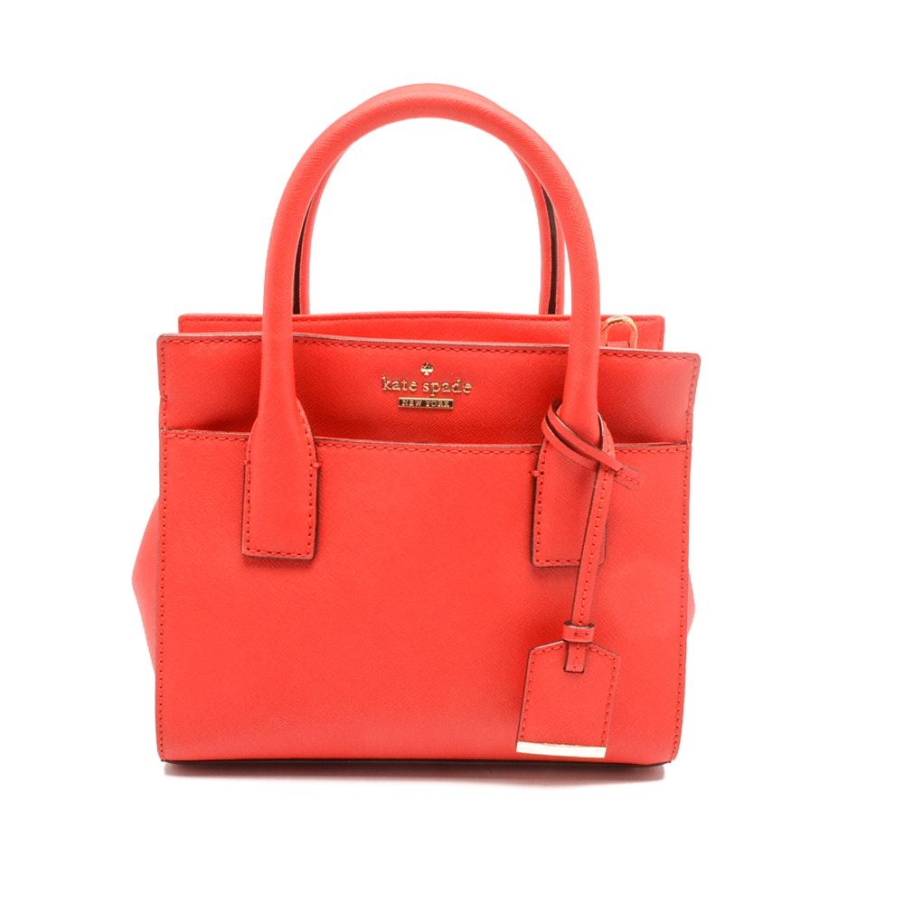 Kate Spade Cameron Street Mini Candace Saffiano Leather Handbag