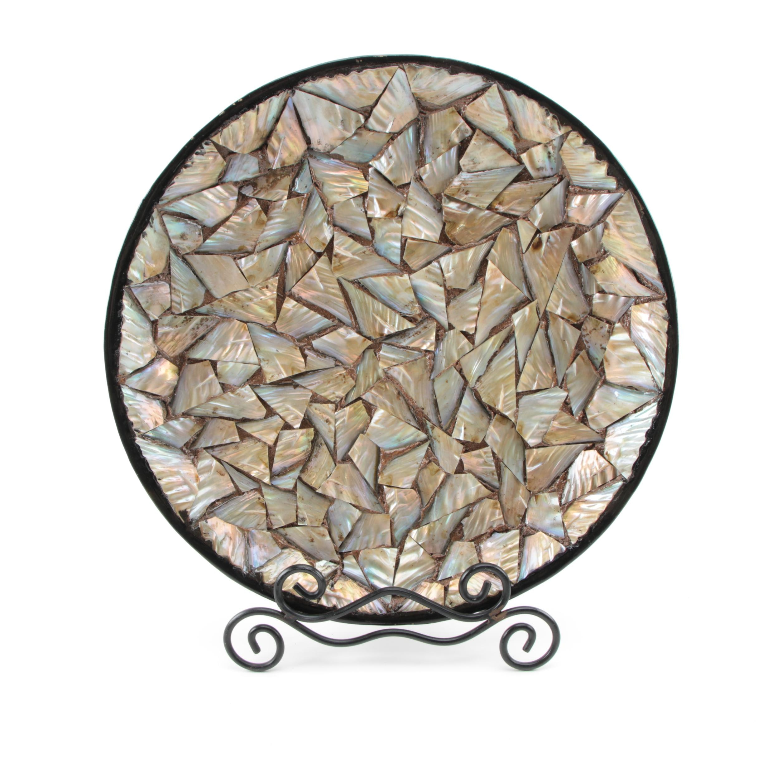 Decorative Shell Plate