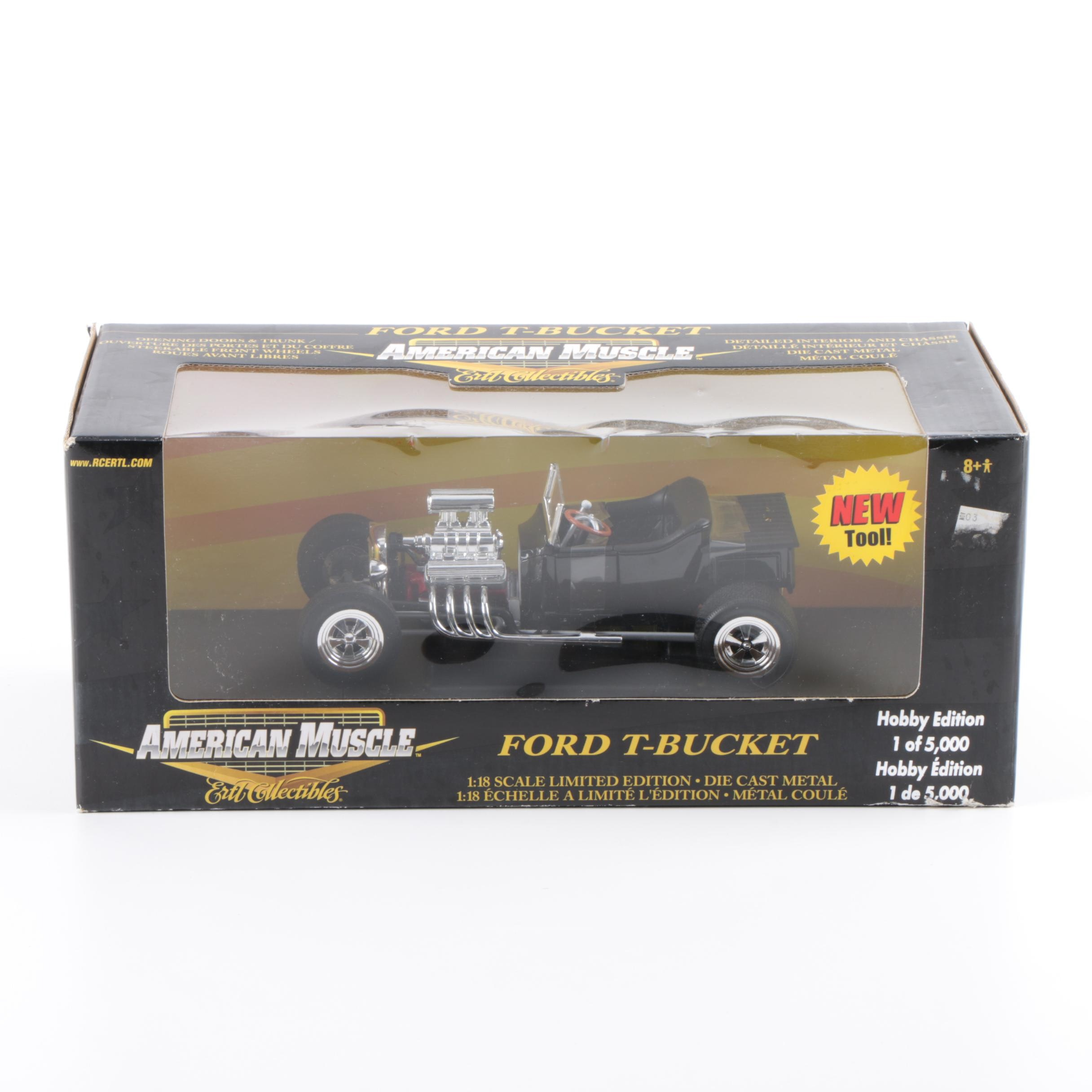 Ertl Collectibles American Muscle Ford T-Bucket Die-Cast Car