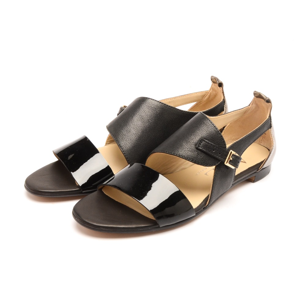 Women's Attilo Giusti Leombruni Black Sandals
