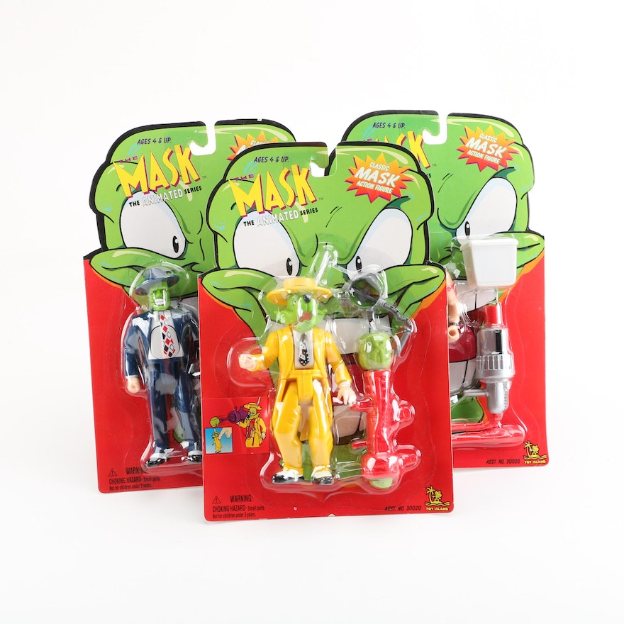 1997 toy island the mask animated series action figures ebth