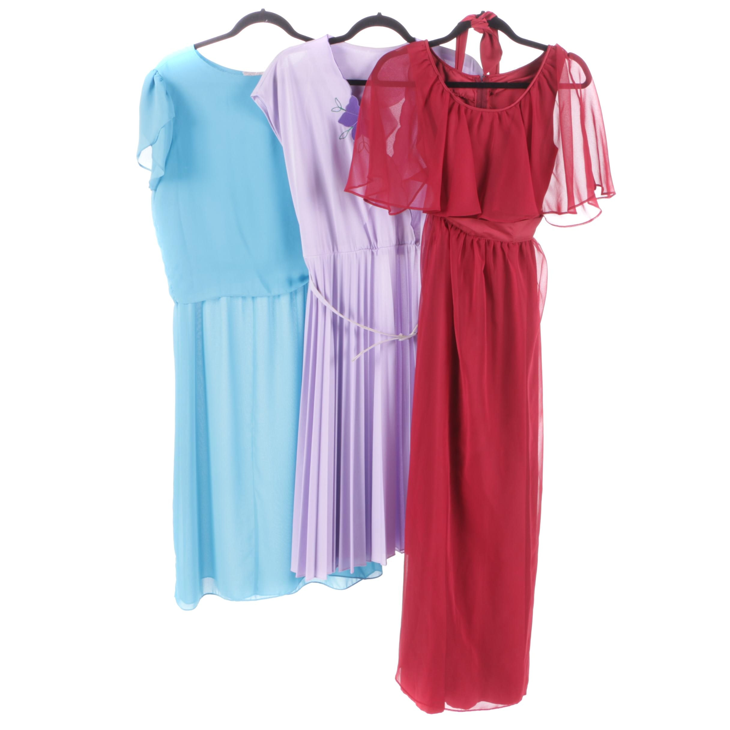 Women's Vintage Dresses Including Monica Richards of California
