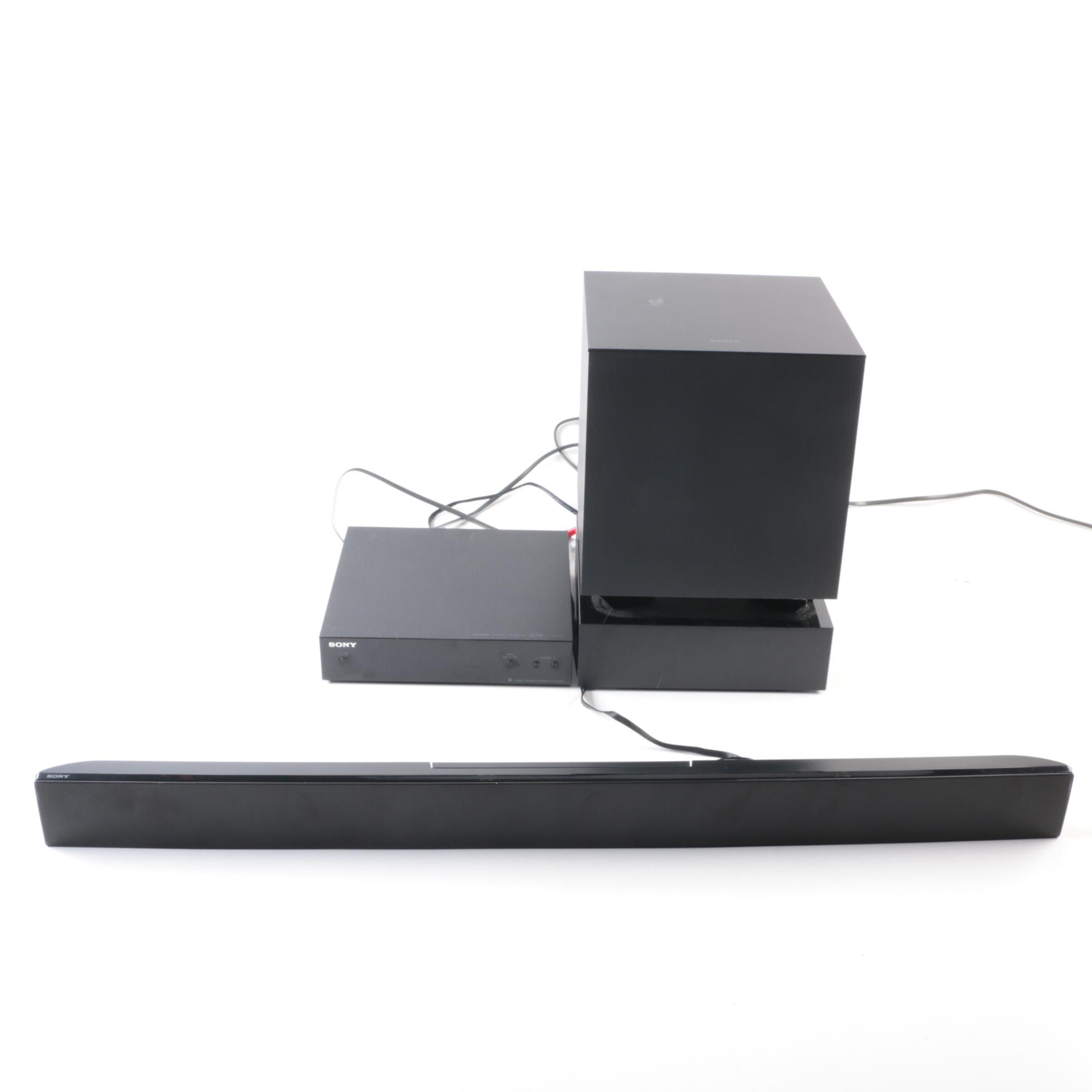 Sony Three Piece Home Theatre System