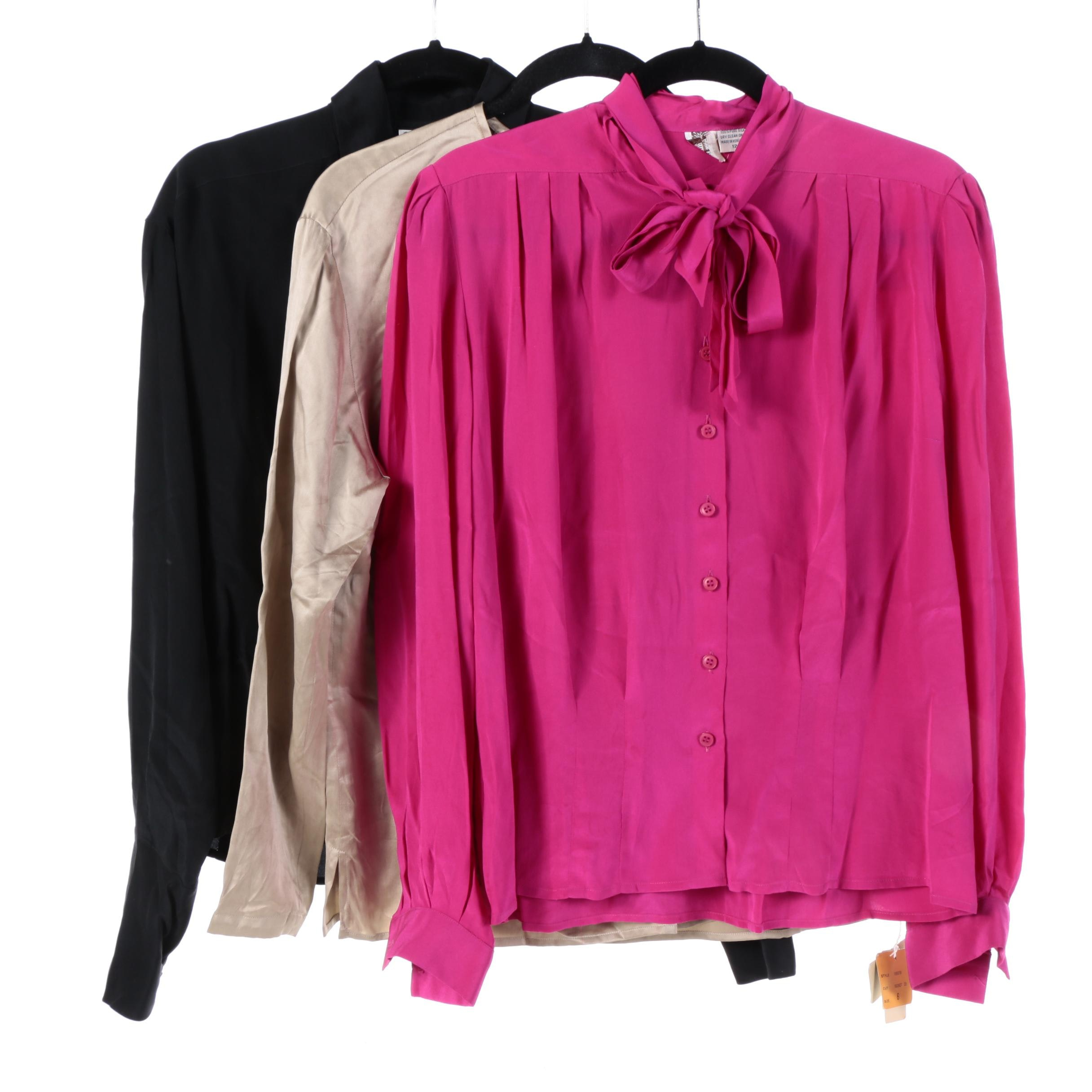 Women's Blouses Including Calvin Klein and Anne Klein II