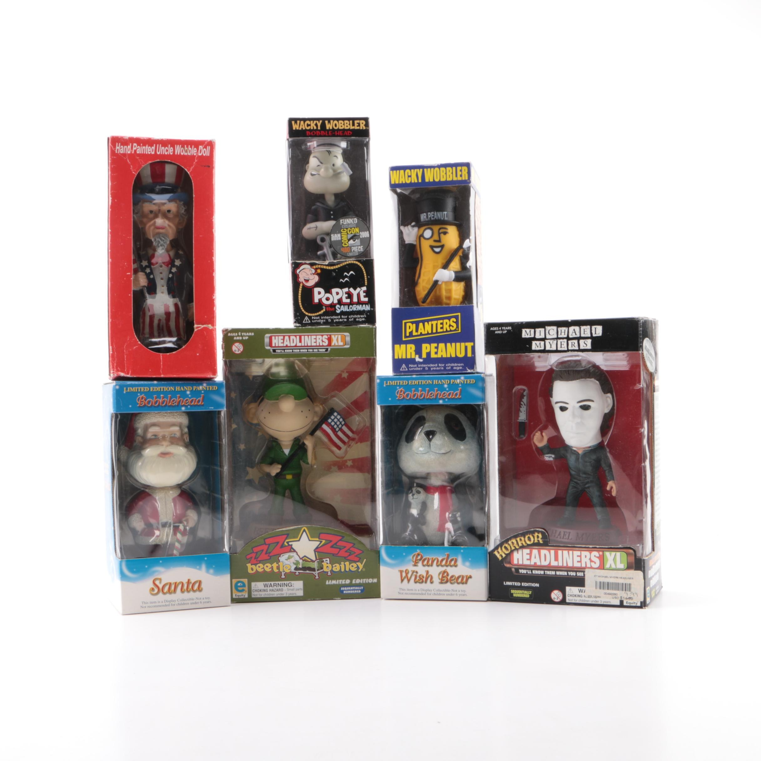 Collectible Comic and Advertising Figurines