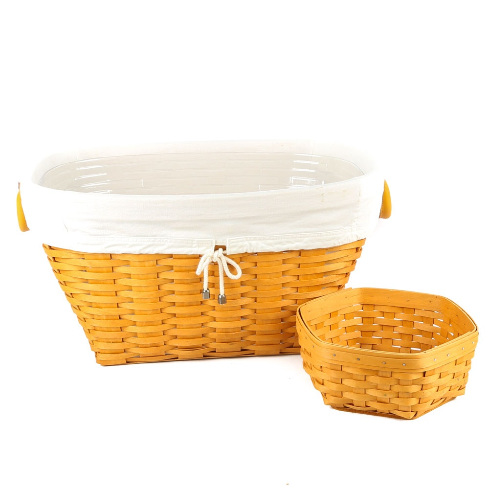 Longaberger Open Laundry Basket