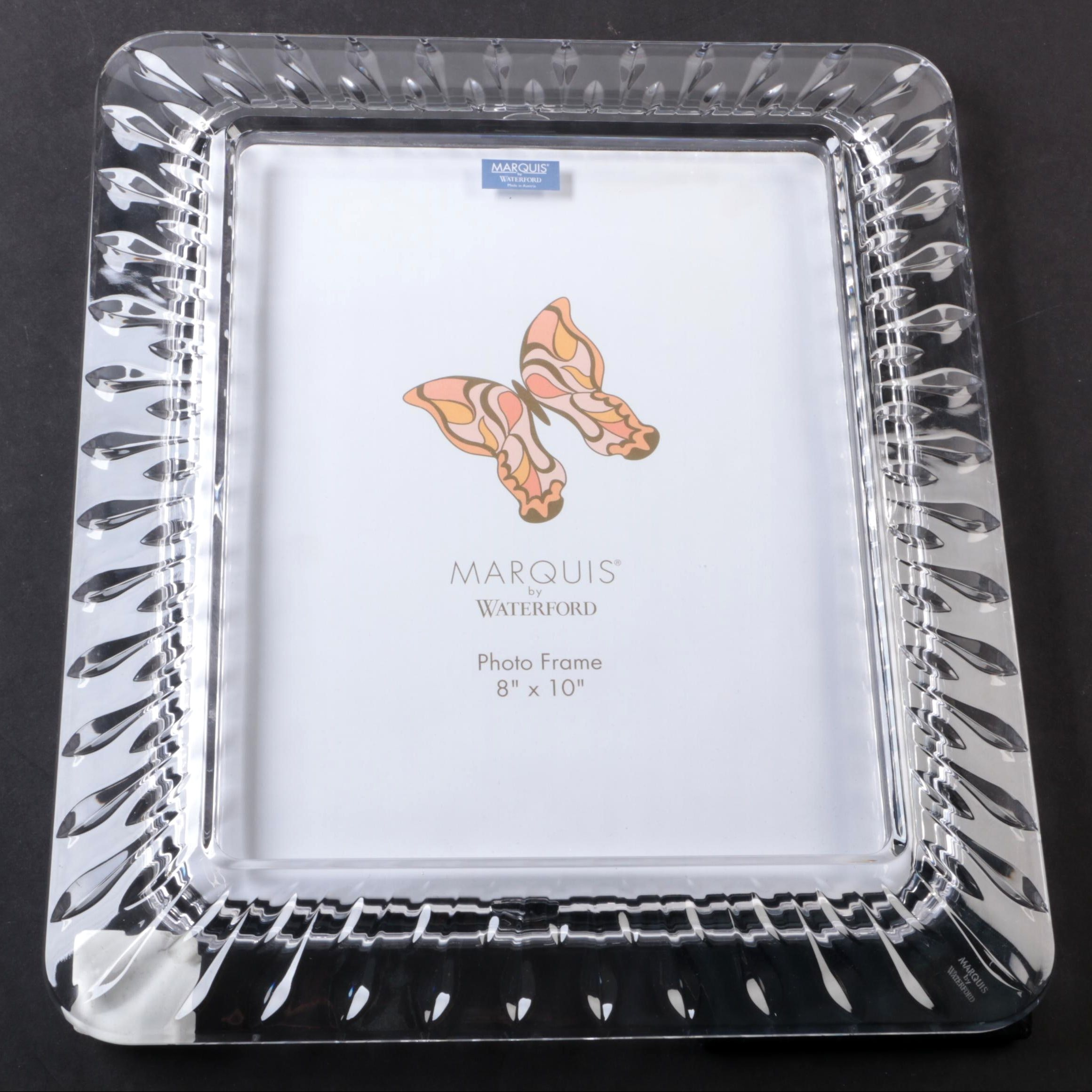 Marquis By Waterford Crystal Picture Frame Ebth