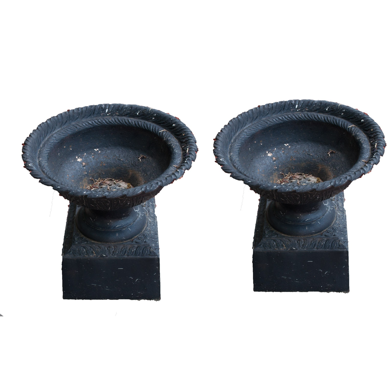 Outdoor Cast Iron Urns