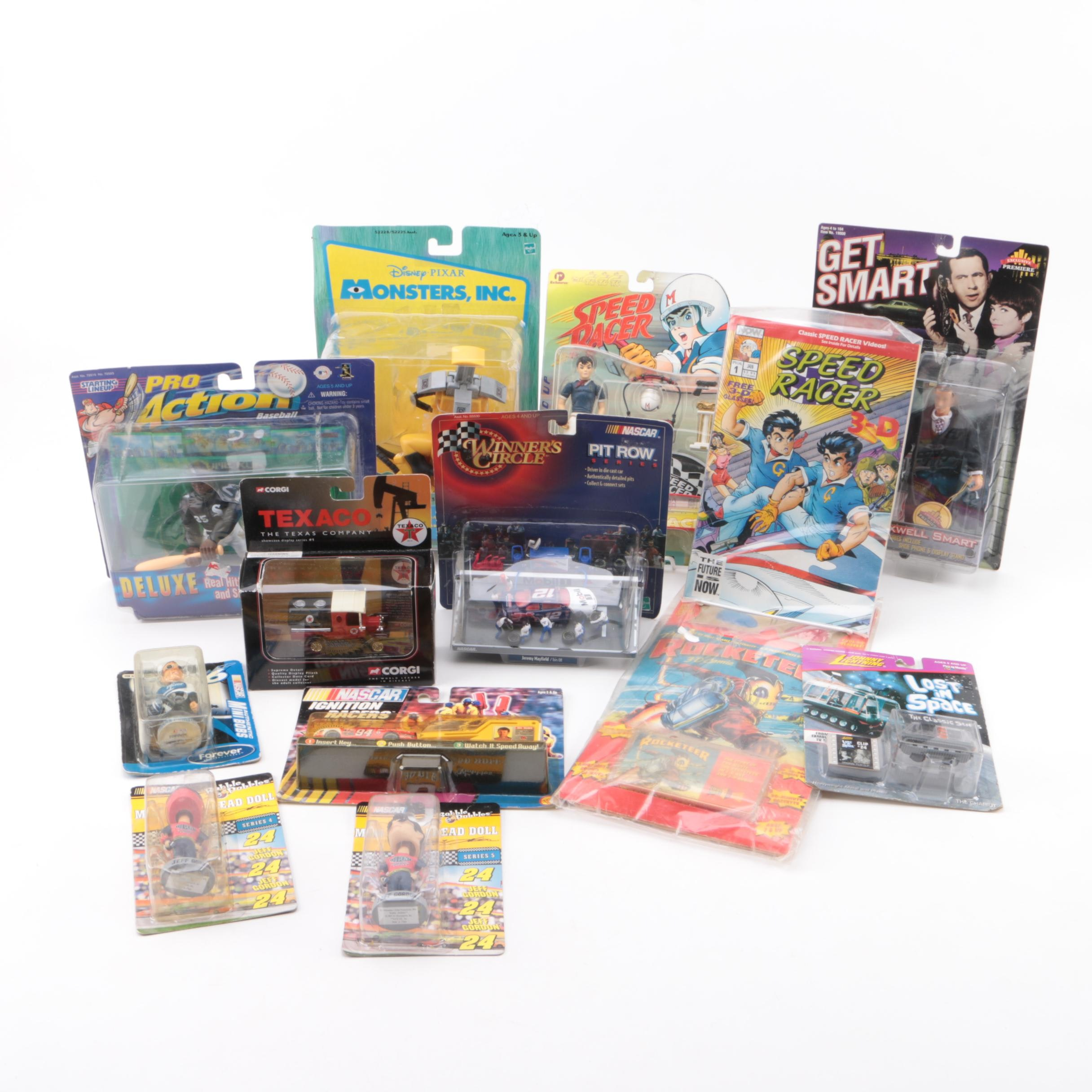 Television Themed Action Figures and Toy Cars