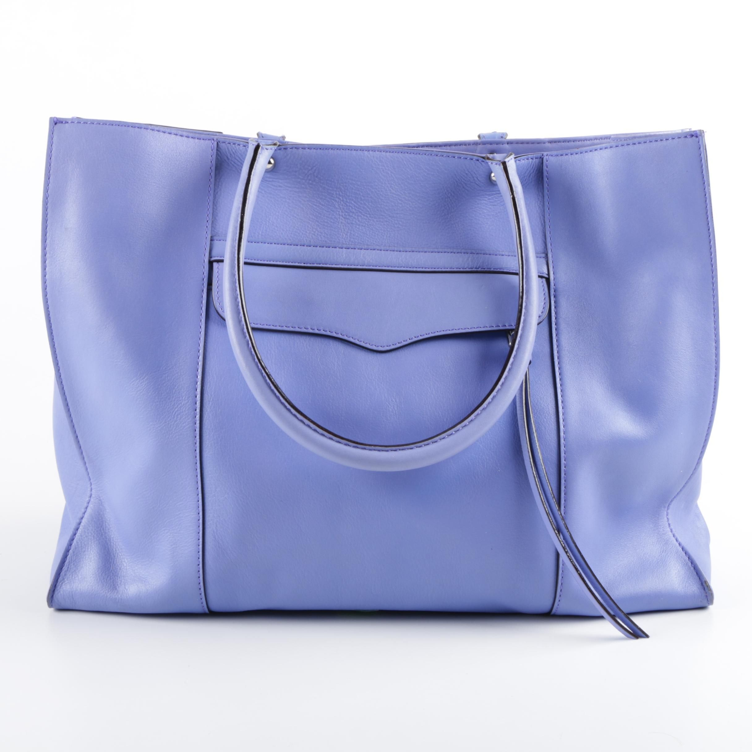 Rebecca Minkoff Periwinkle Leather Tote Bag