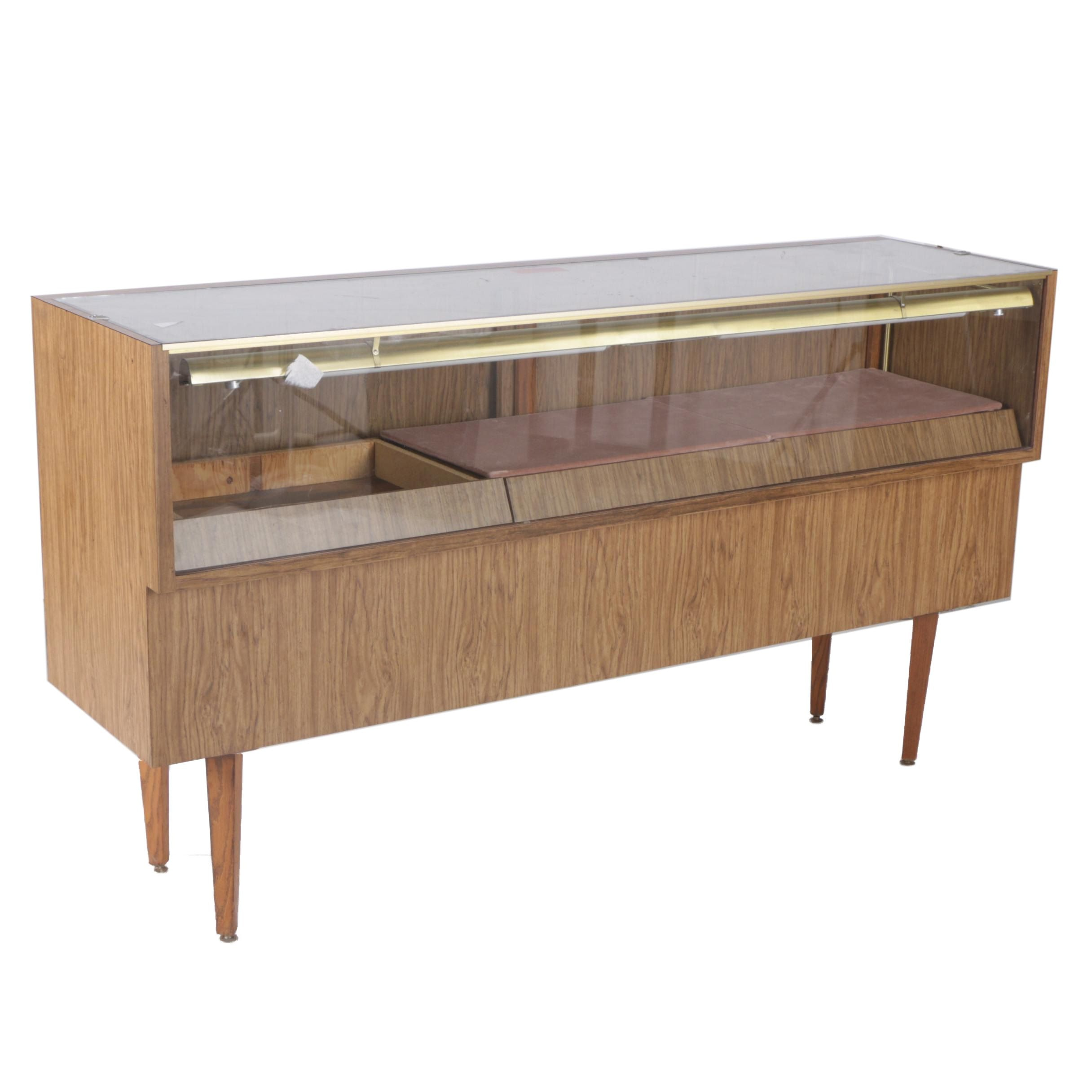 Mid Century Modern Display Case