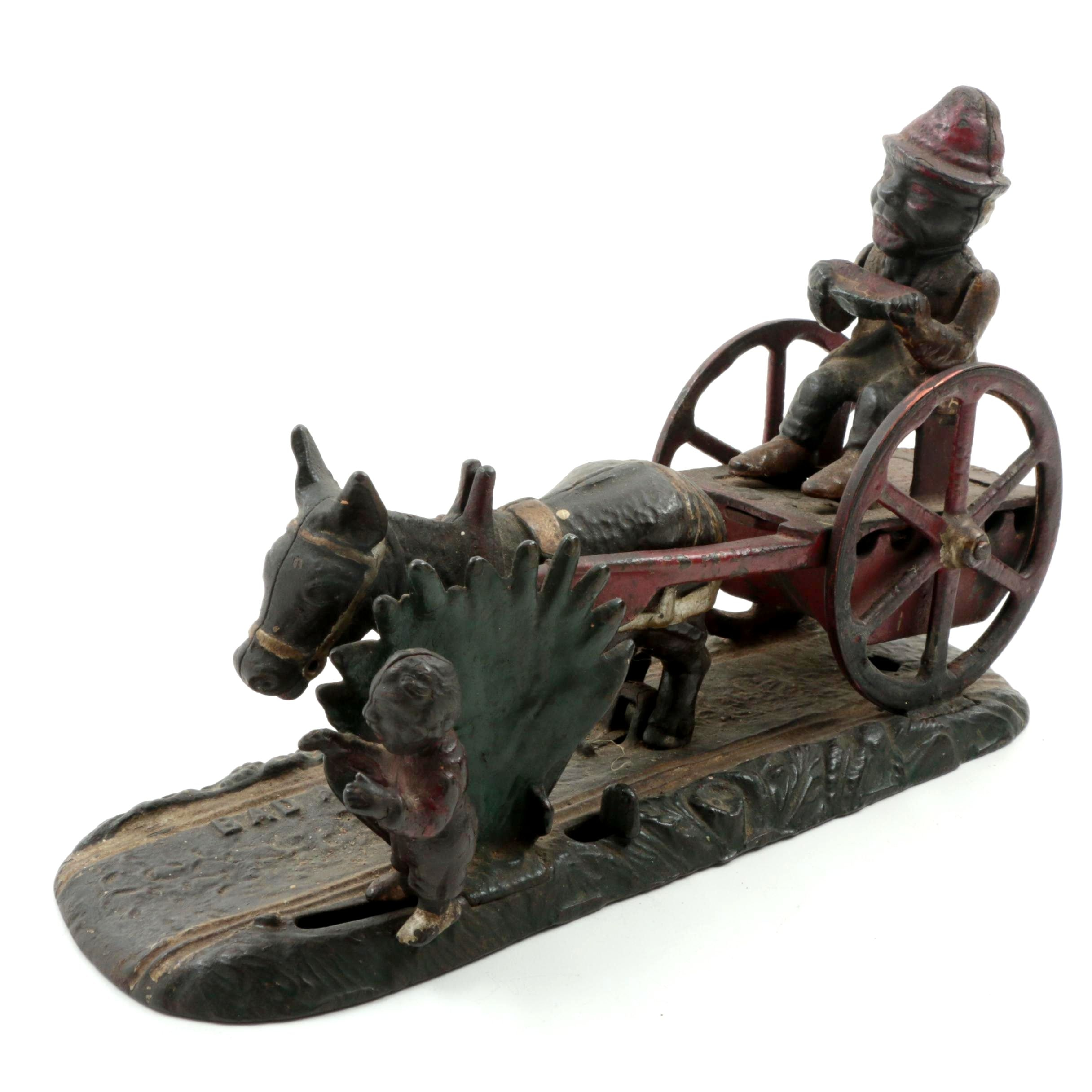 """Bad Accident"" Cast Iron Mechanical Bank"