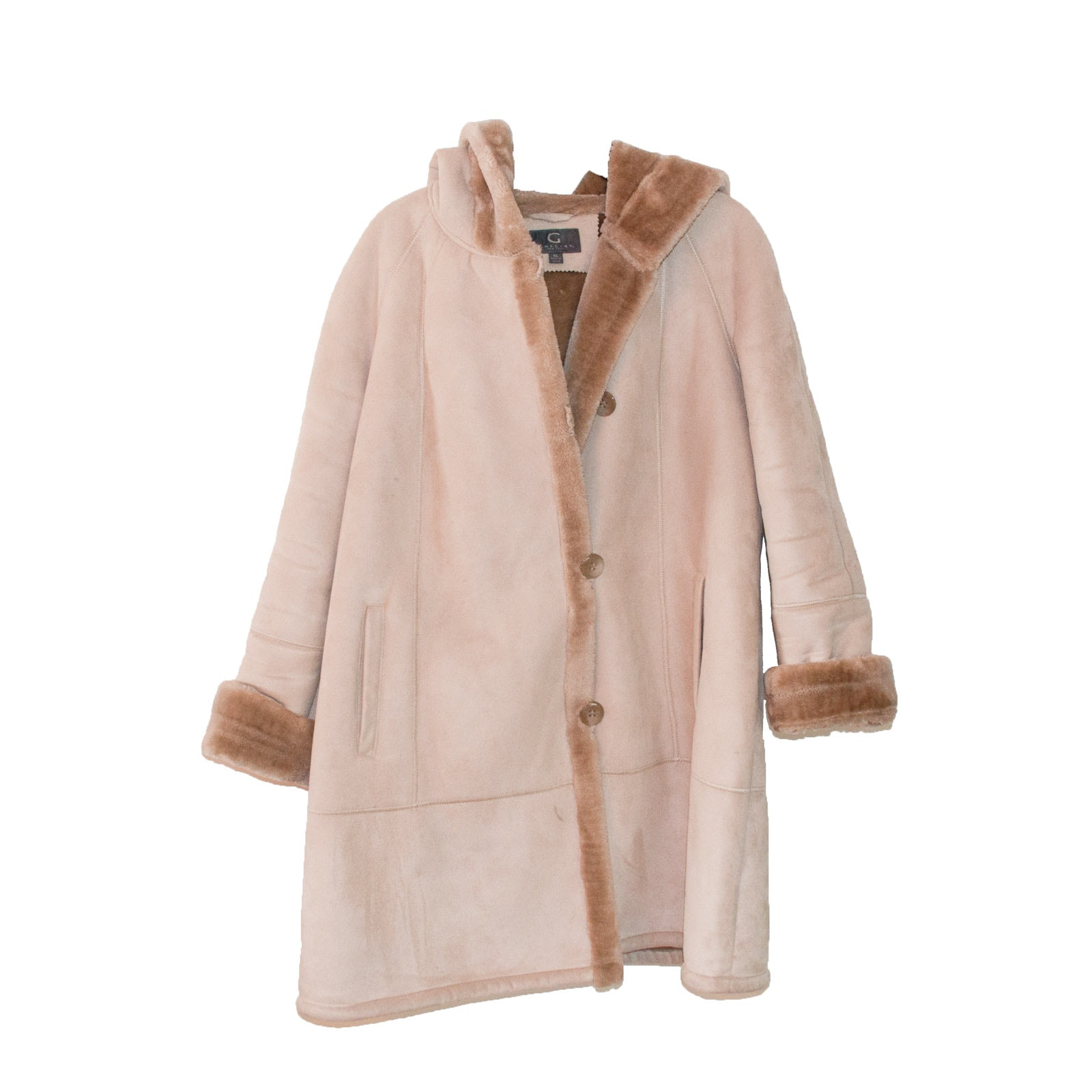 Women's Gallery Suede Coat