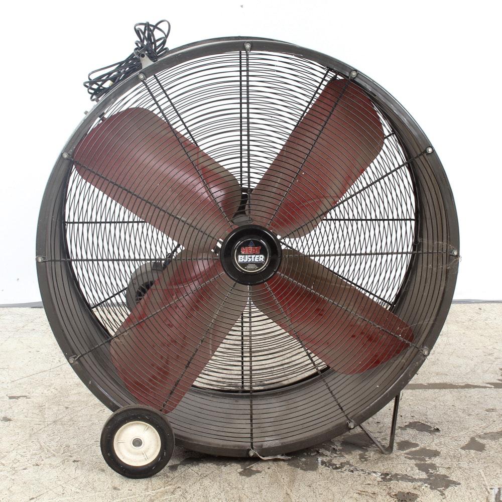 Heat Buster Brand Large Industrial Fan