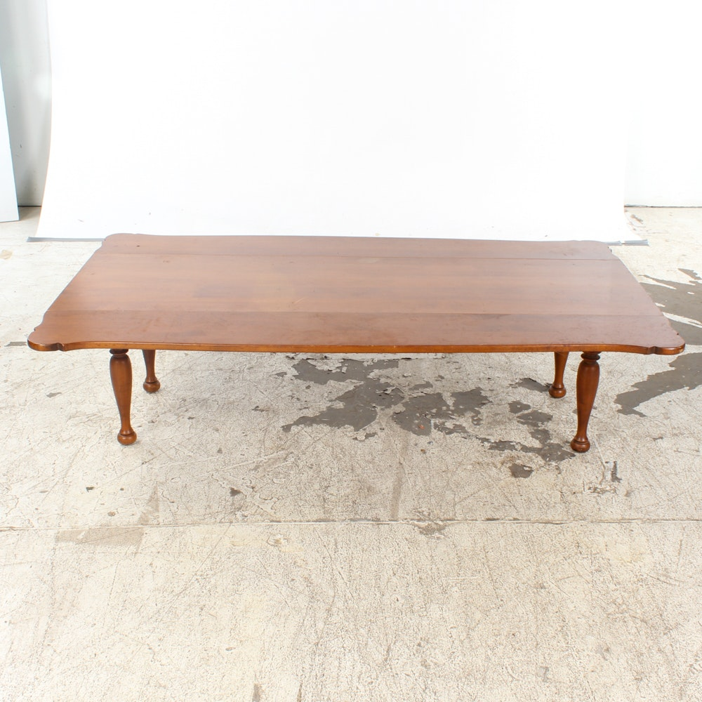 Vintage Colonial Style Drop Leaf Coffee Table