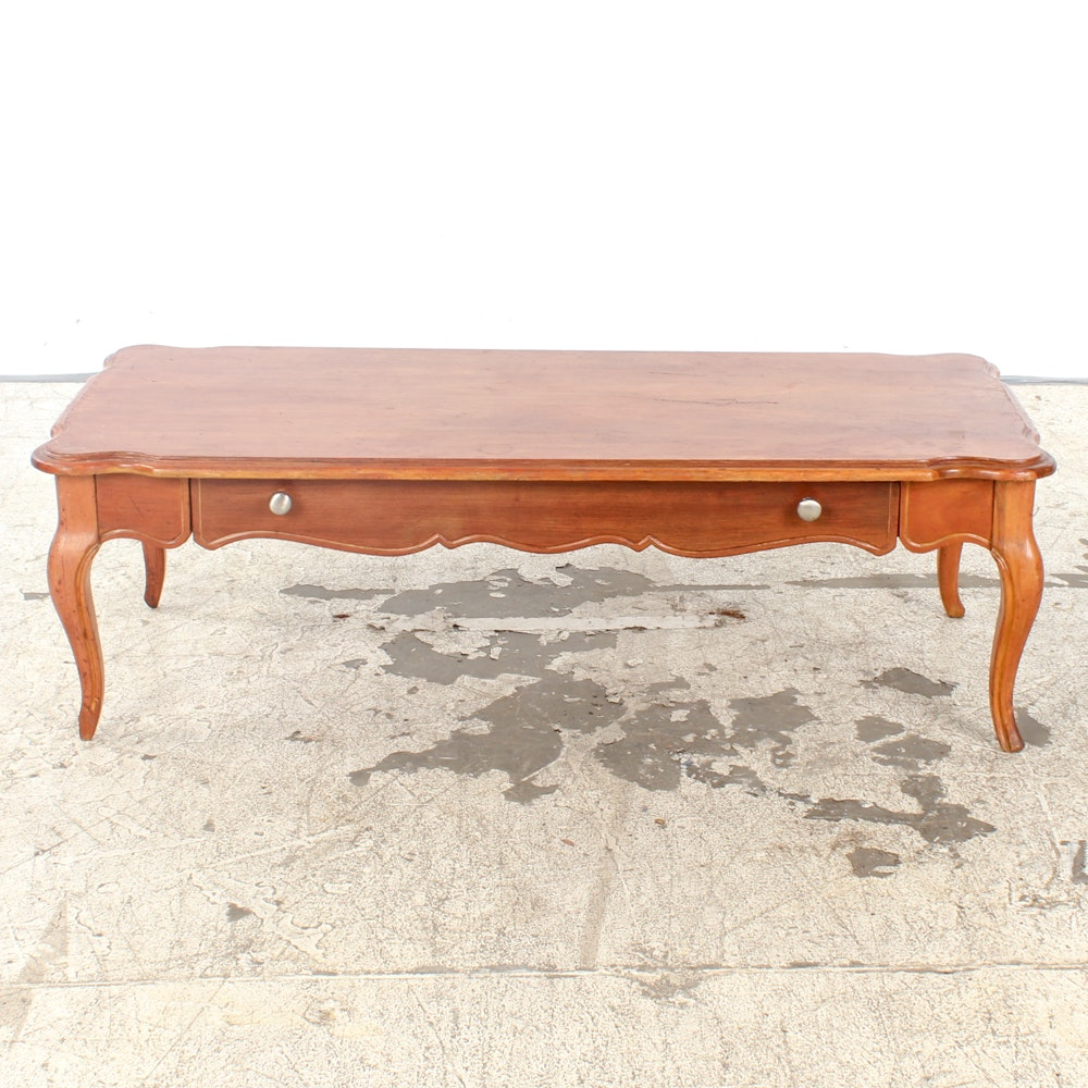 Vintage Provincial Style Coffee Table