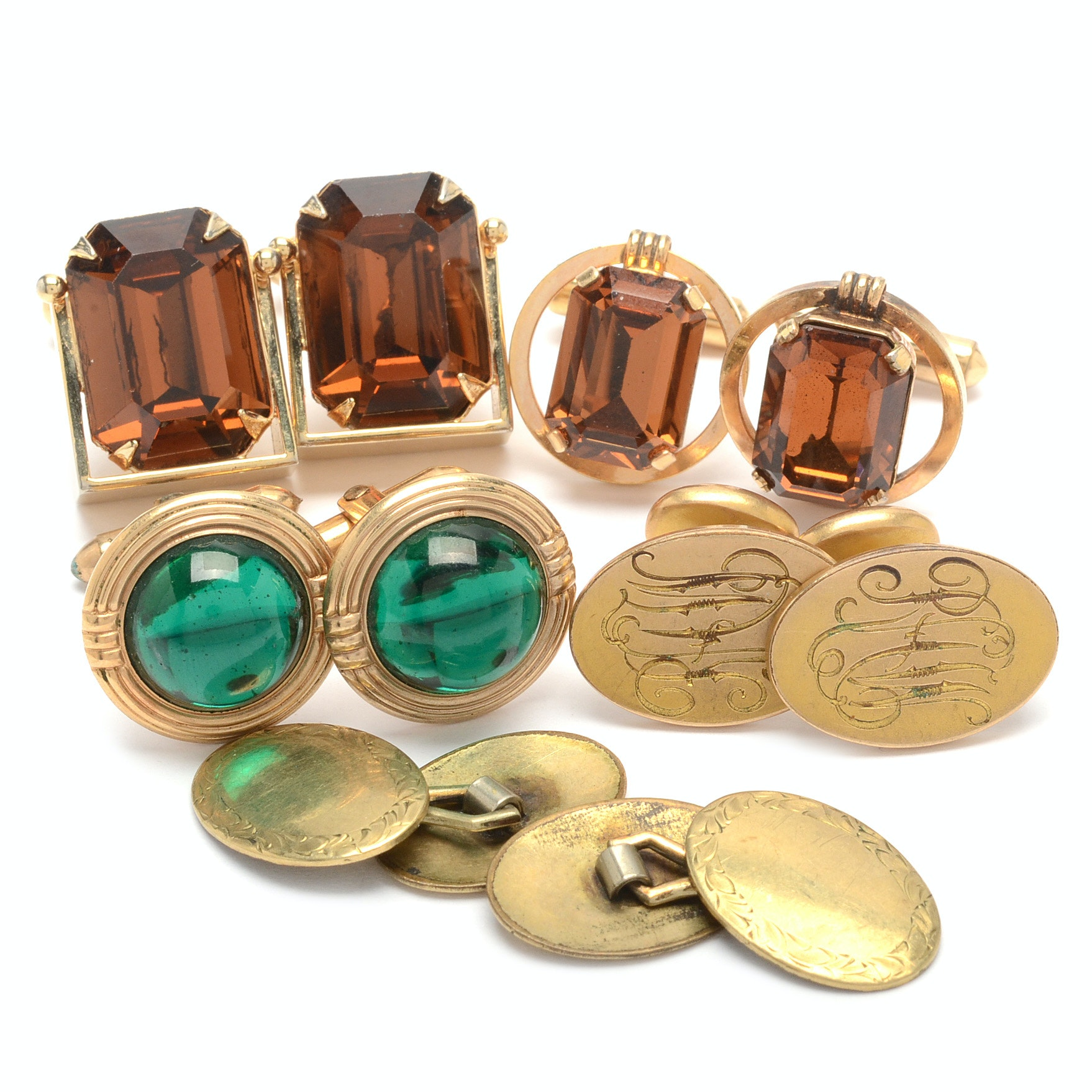 Selection of Gold Filled Cufflinks