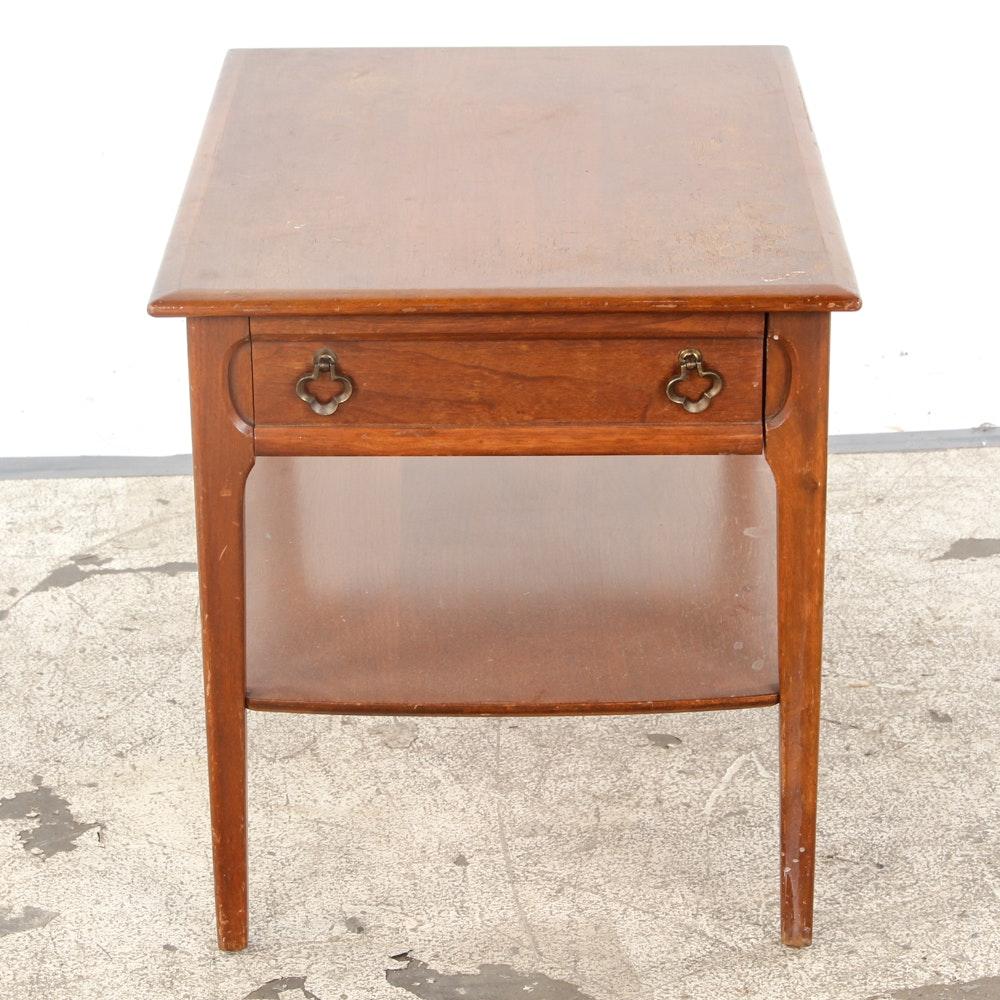 Mersman Furniture Mid-Century Walnut End Table