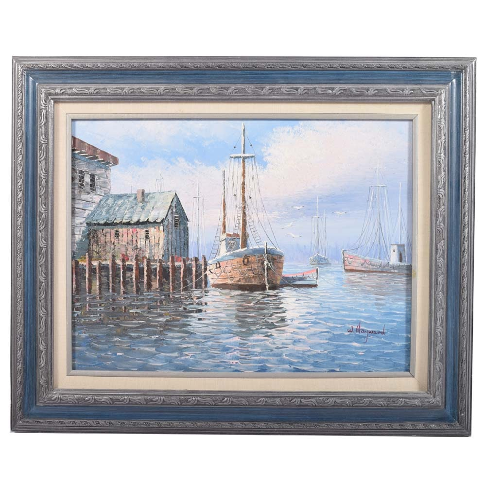 W. Hayward Oil Painting on Canvas