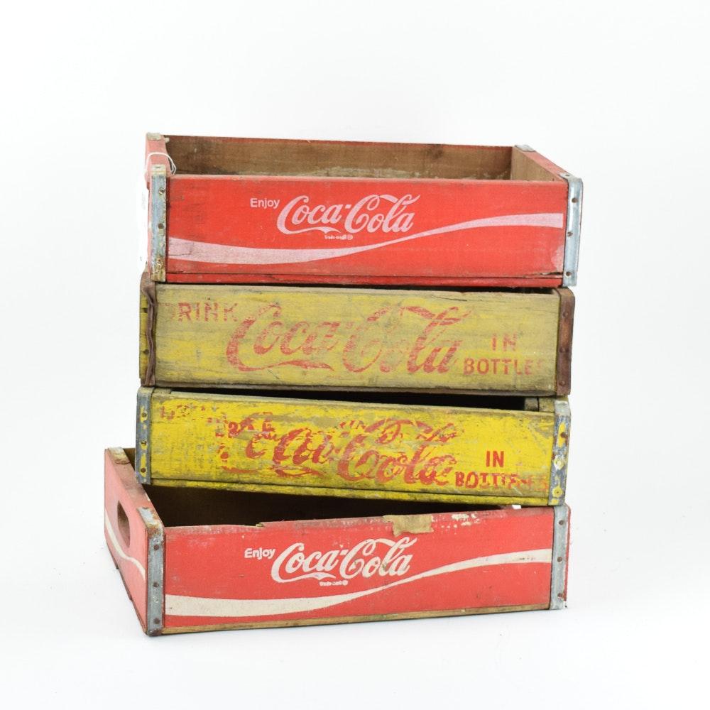 Wooden Coca-Cola Crates