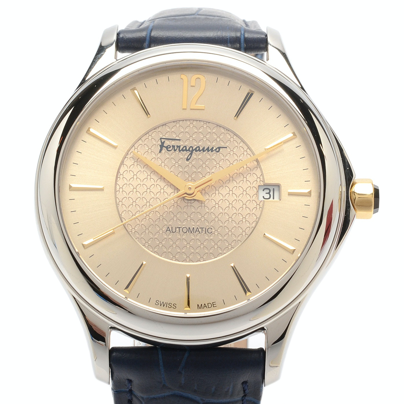 "Salvatore Ferragamo ""Time Automatic"" Swiss Wristwatch"