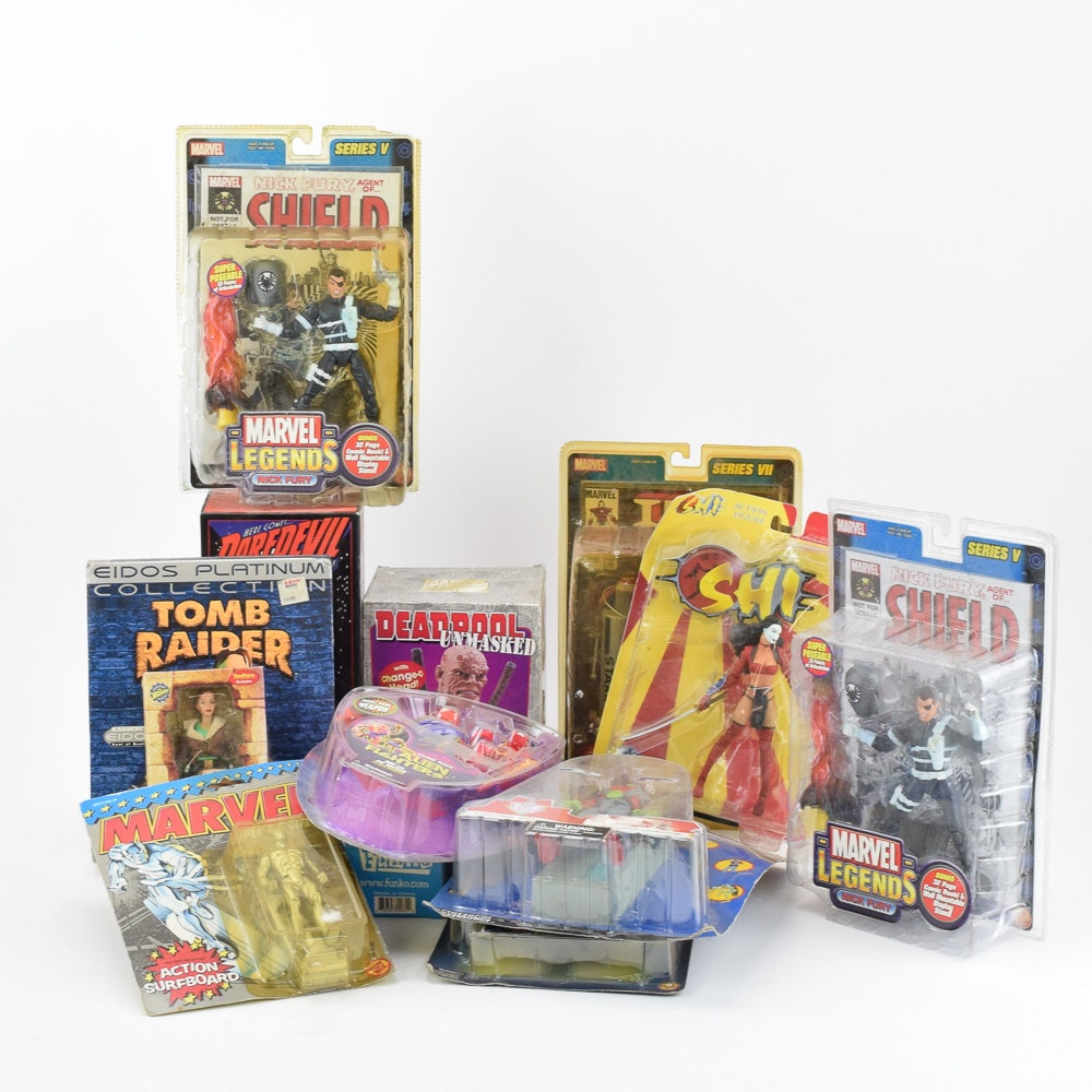 Action Figures Including Marvel