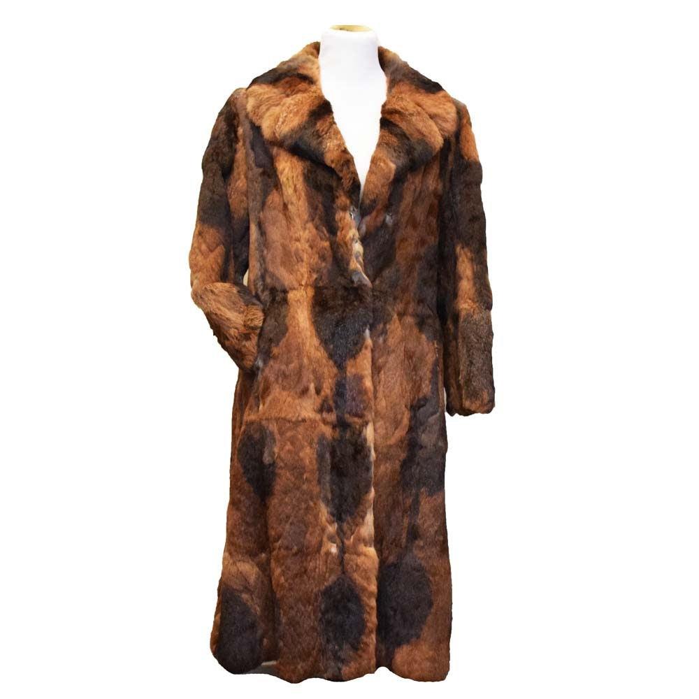 Vintage Dino Ricco Rabbit Fur Coat