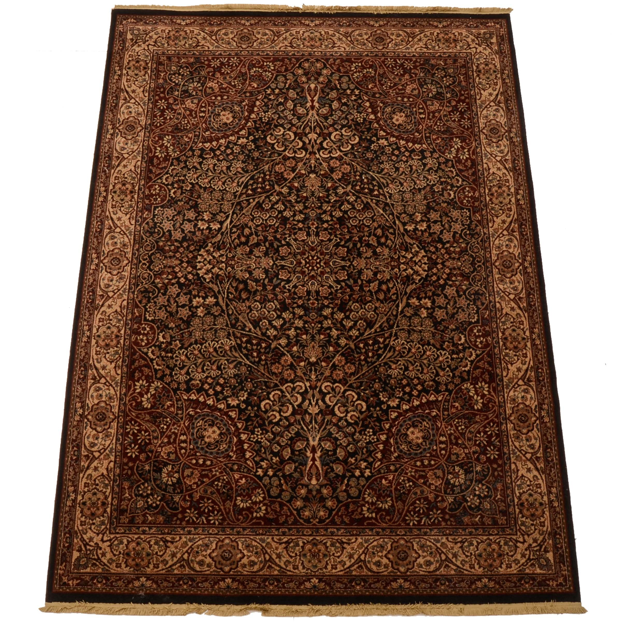 Power Loomed Persian-Inspired Area Rug