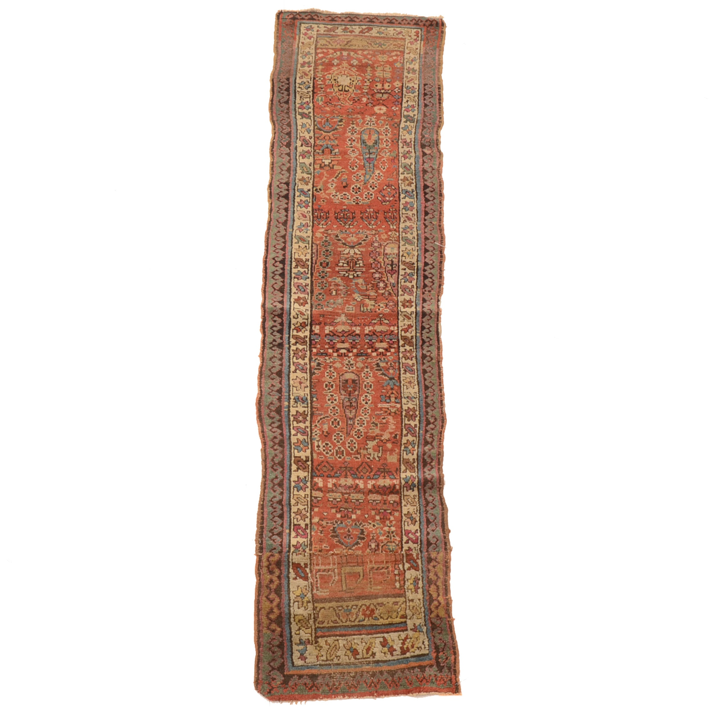 Hand-Knotted Anatolian Carpet Runner
