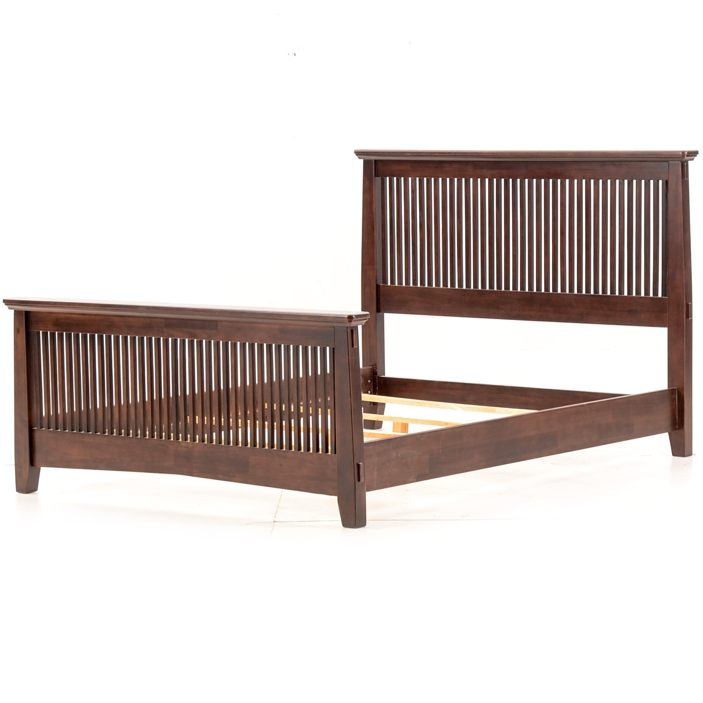 Queen Size Mission Style Bed Frame by American Signature Furniture