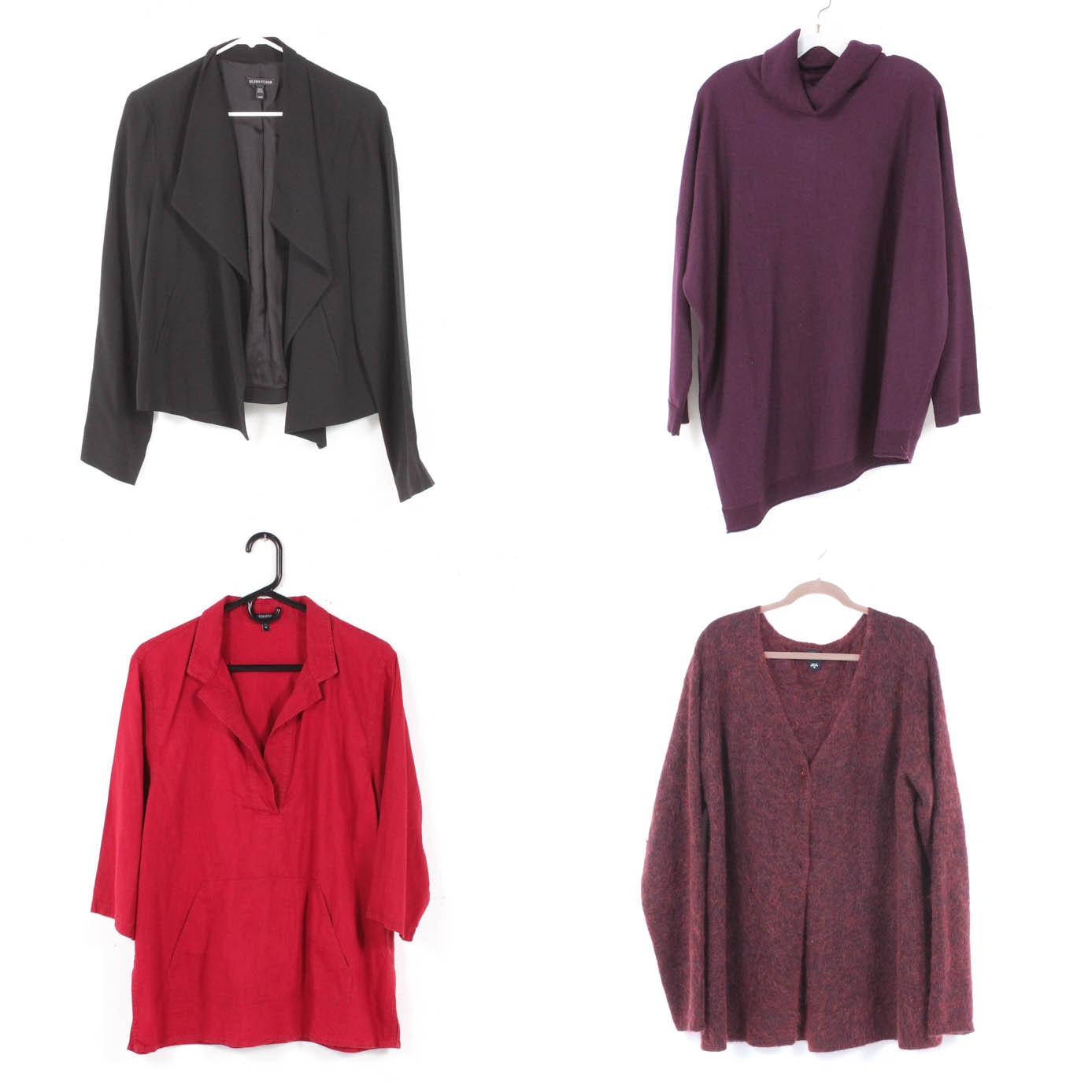 Eileen Fisher Jacket, Sweaters and Top