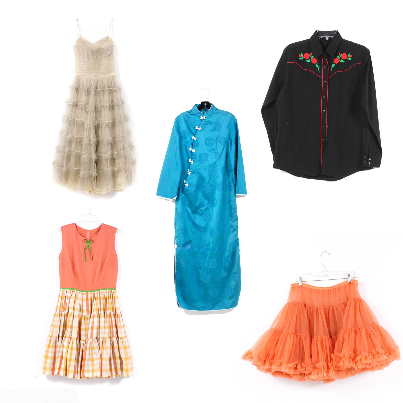 Vintage Clothing Assortment
