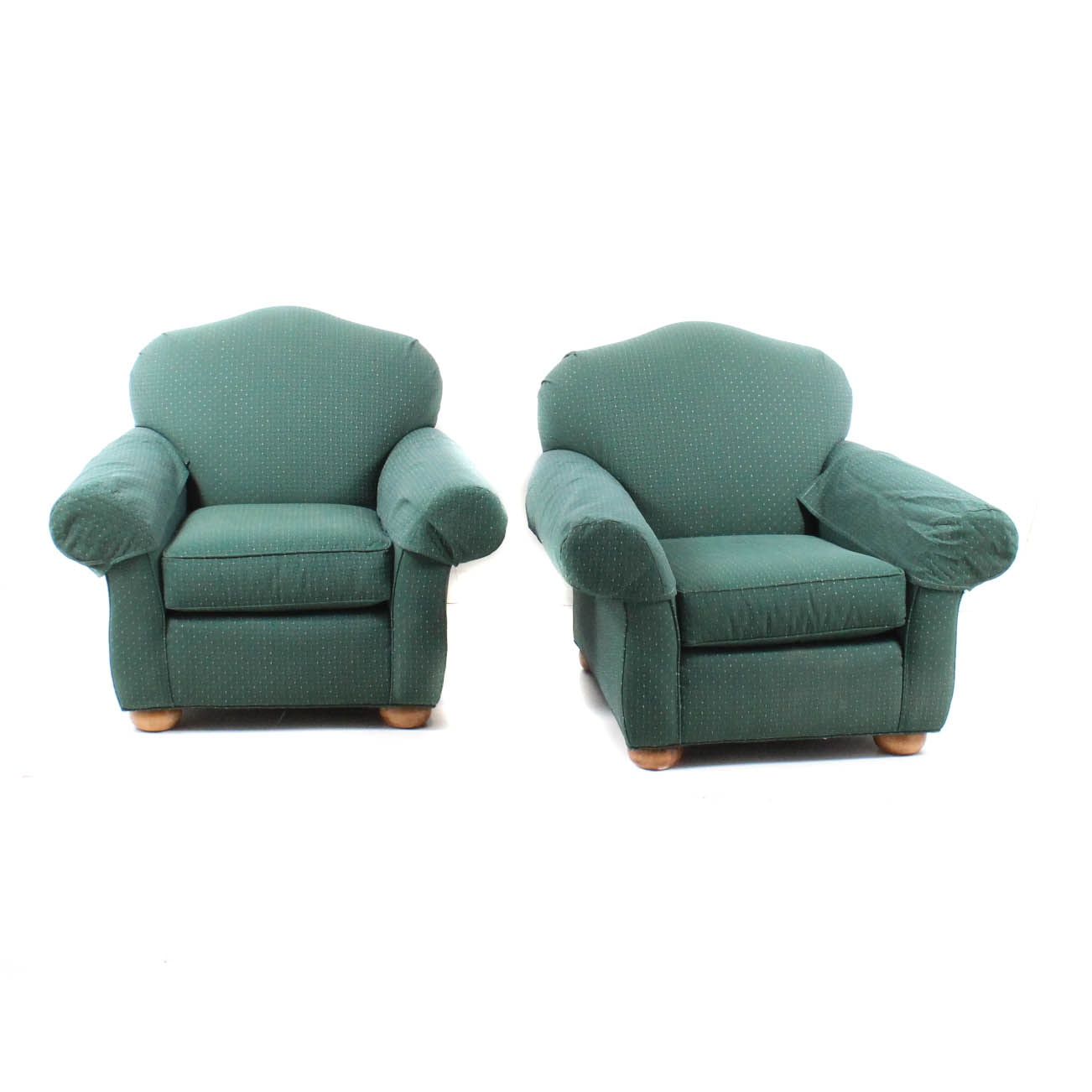 "Laine Furniture ""Carolina Collection"" Upholstered Armchairs"