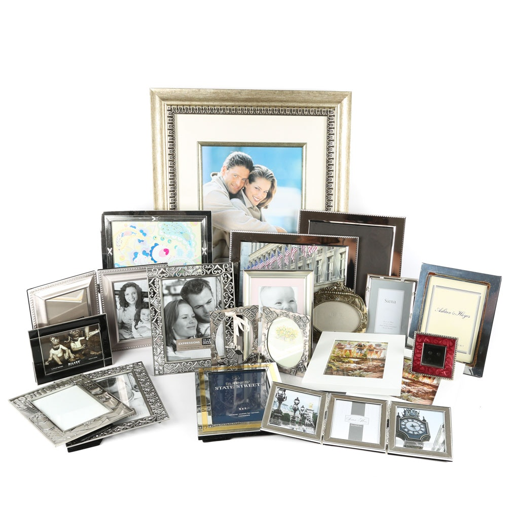 Collection of Home Tabletop Picture Frames
