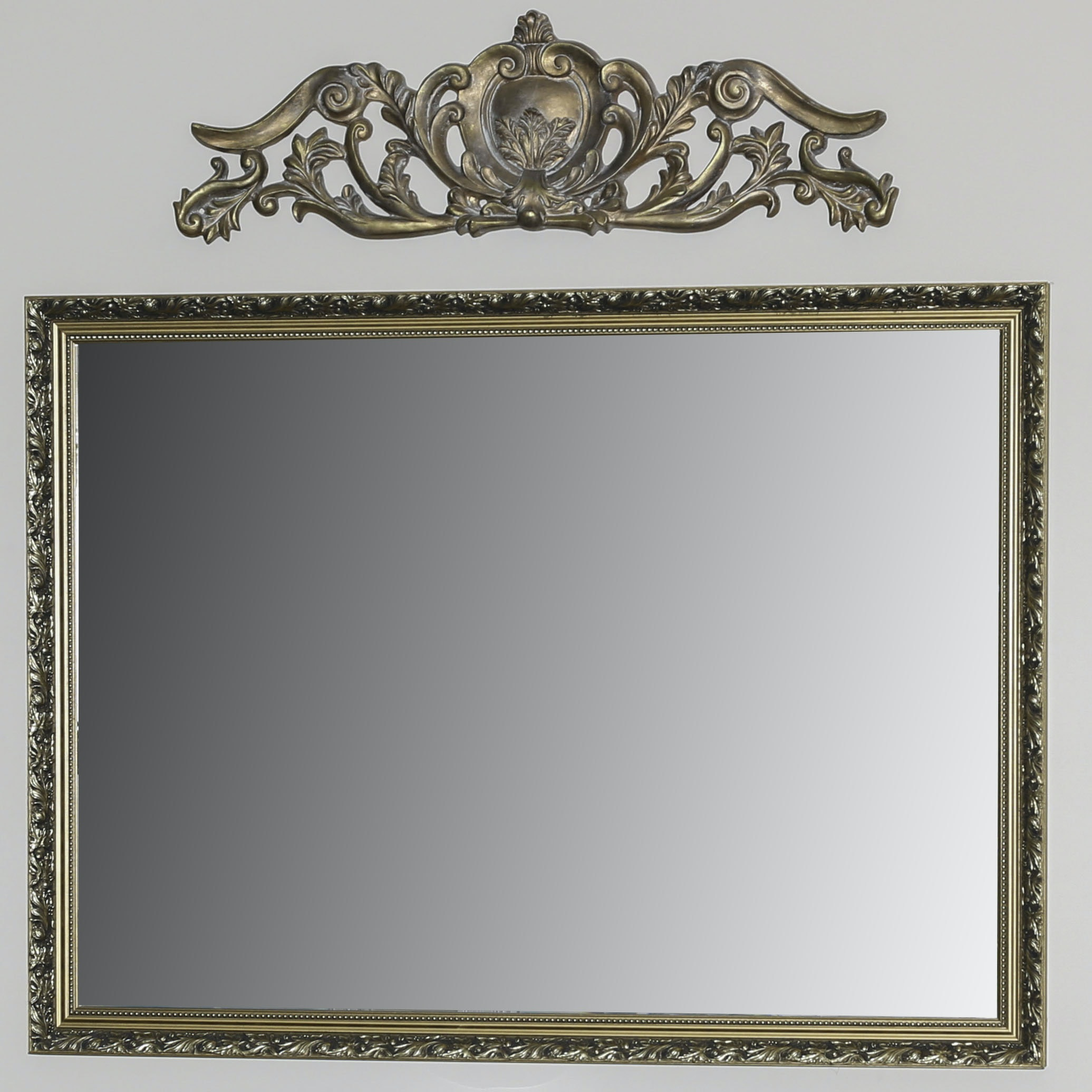 Classical Hall Mirror and Crest