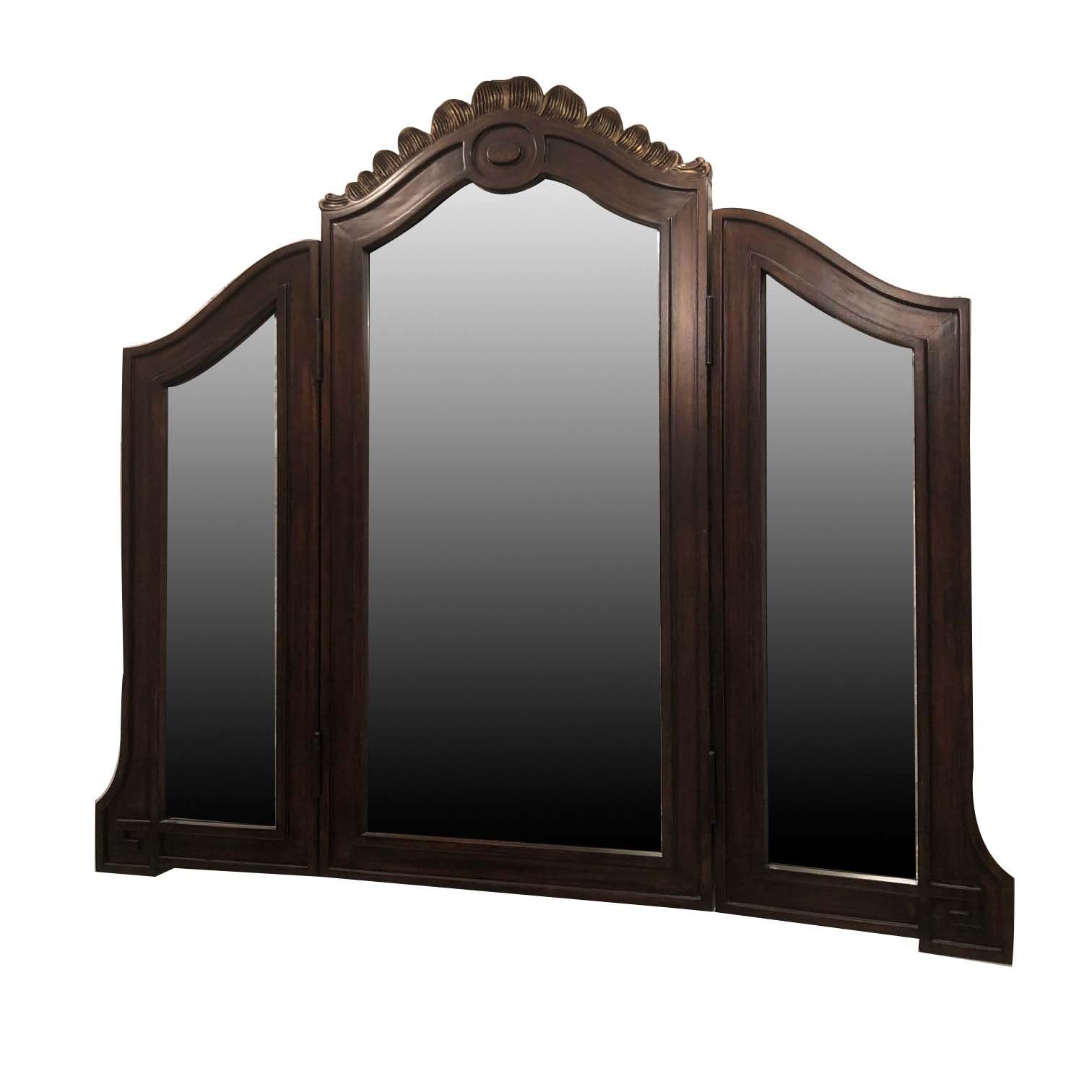 Three Panel Hanging Vanity Mirror