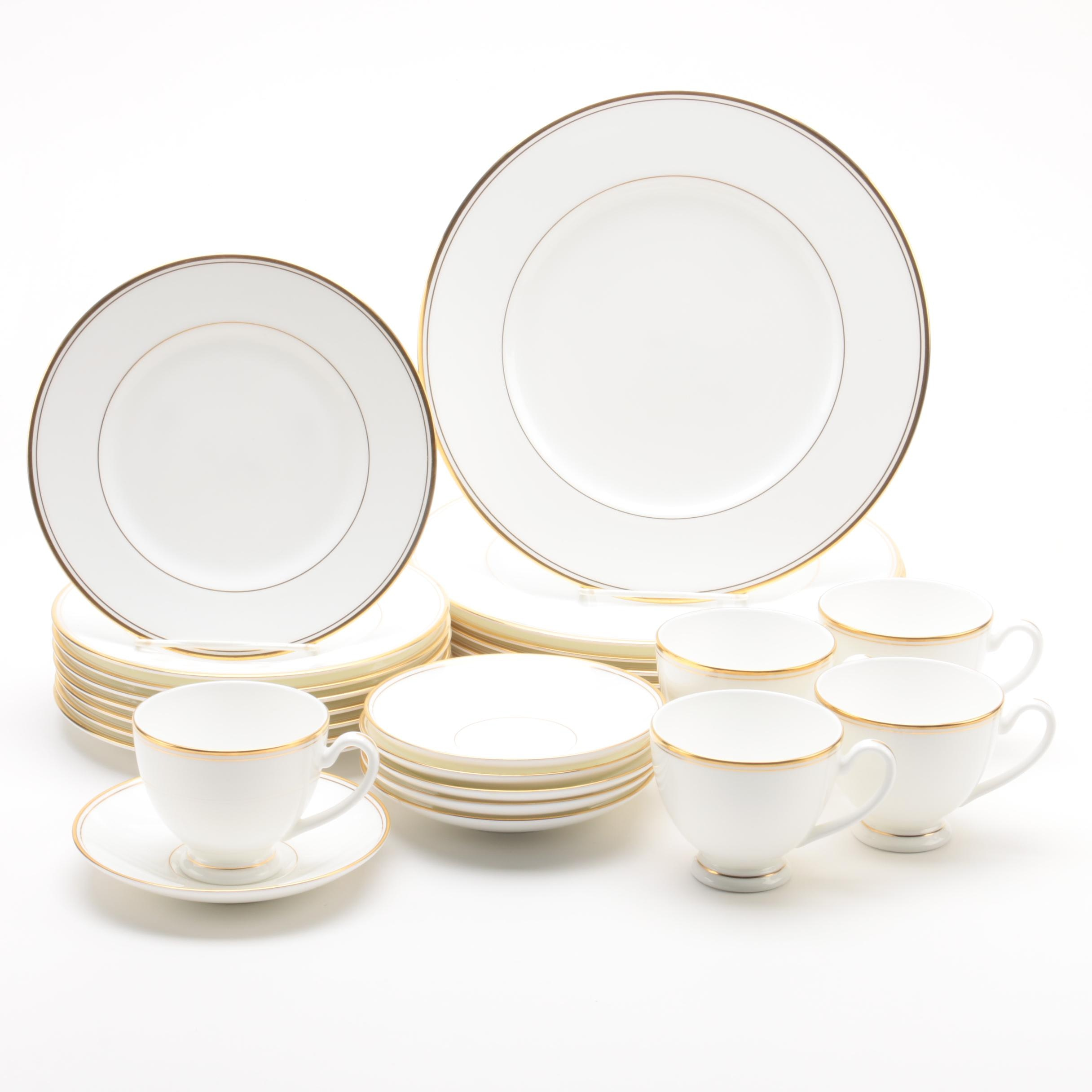 "Waterford ""Kilbarry Gold"" Dinnerware, Circa 2002-2006"