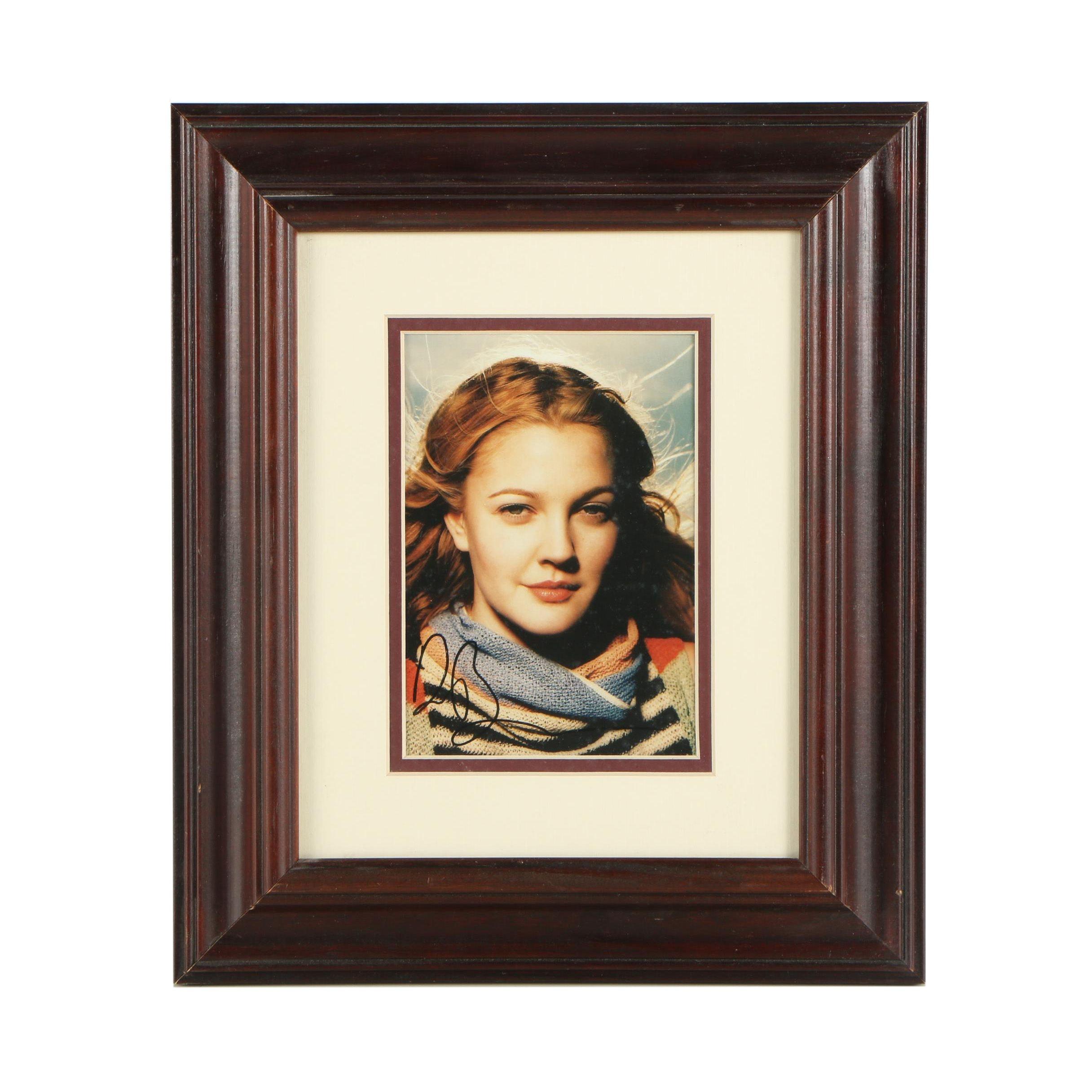 Drew Barrymore Autographed Photograph