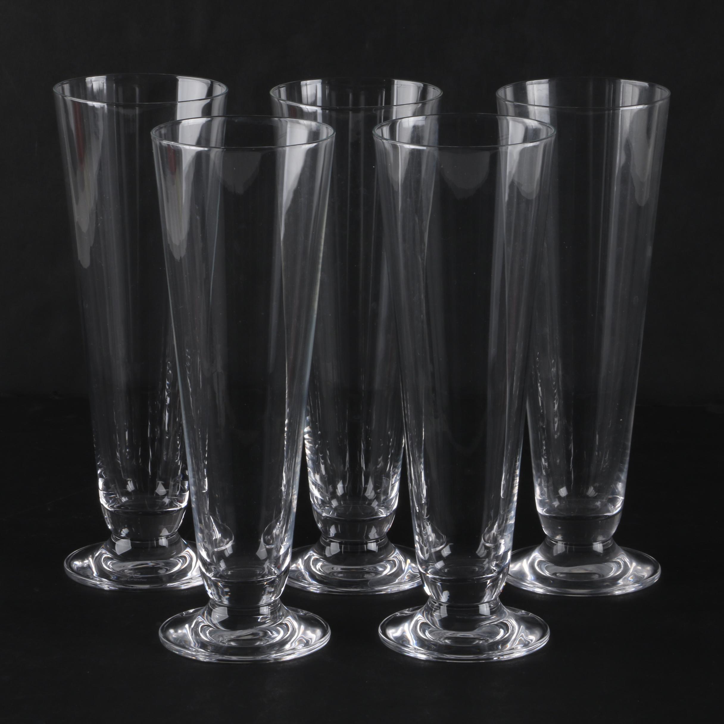 Inn Crystal Pilsner Glasses