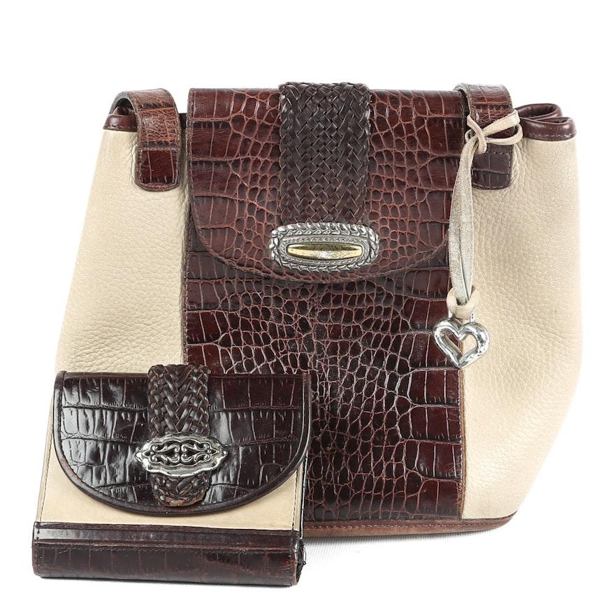 Brighton Leather Handbag and Wallet   EBTH a6e3e7fd50